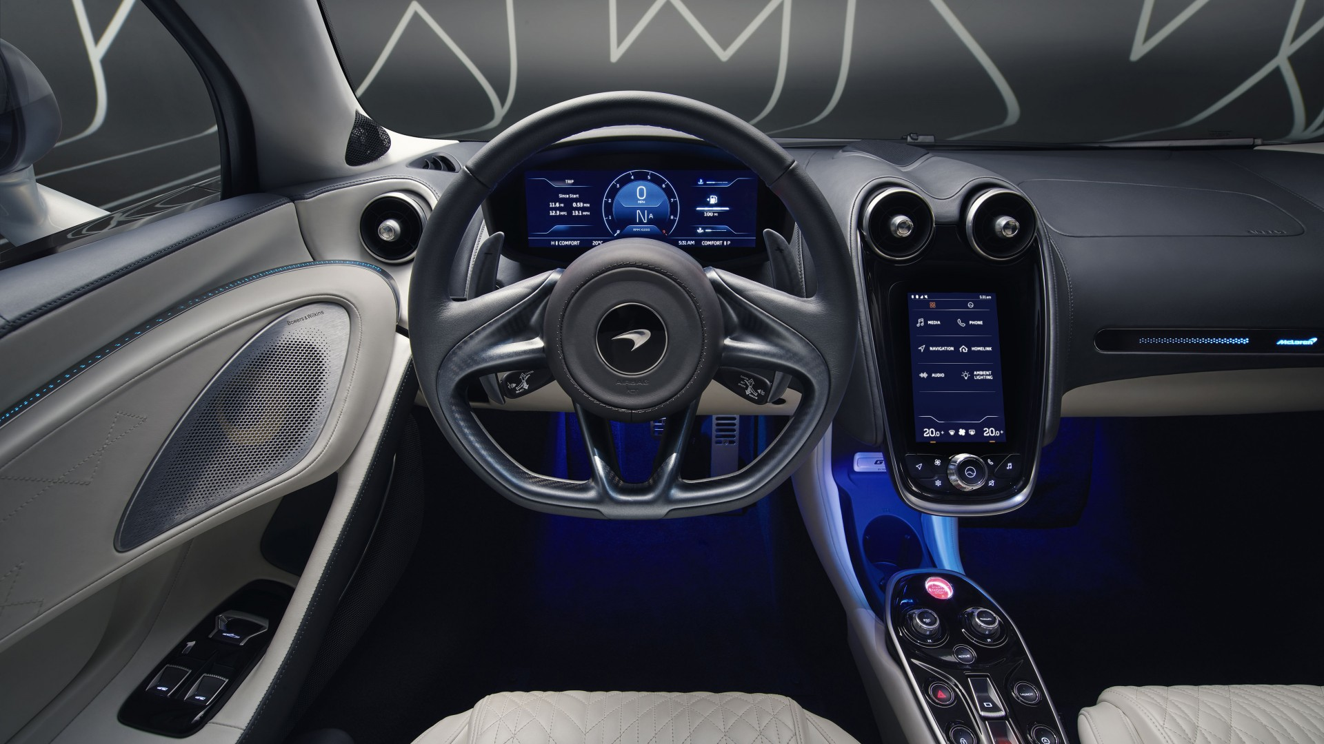 Mclaren Gt By Mso 2019 5k Interior Wallpaper Hd Car