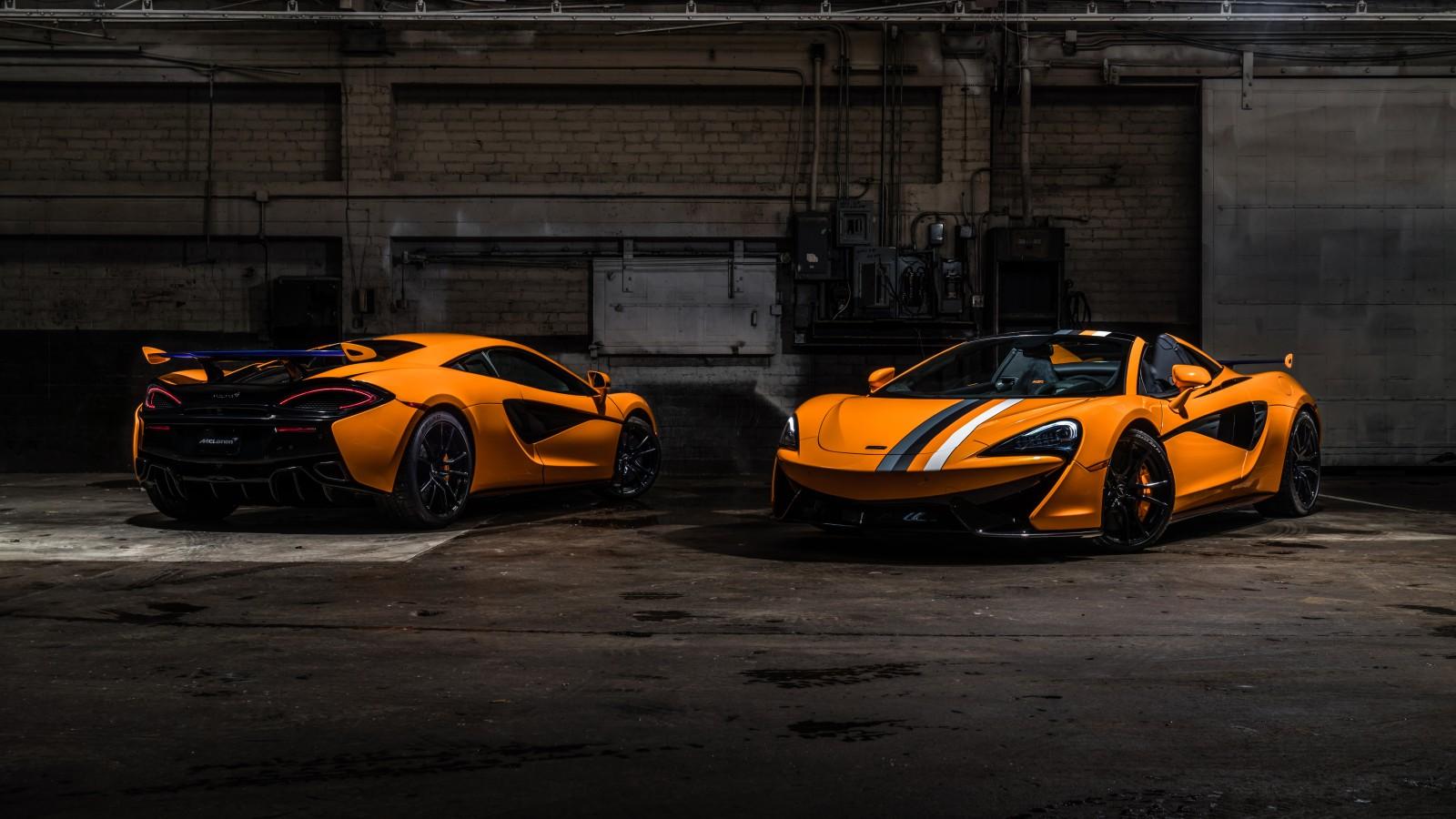 McLaren MSO 570S Spider Papaya Spark 2019 4K 8K Wallpaper ...