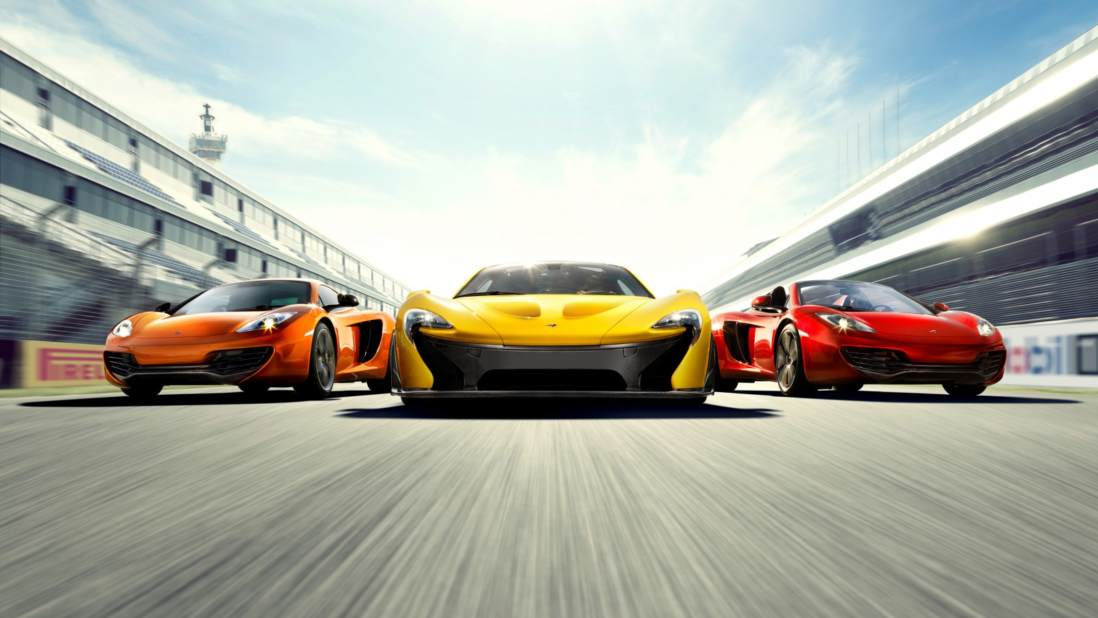 McLaren P1 Supercars 4K Wallpaper