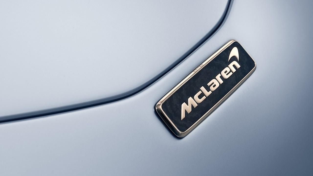Mclaren Speedtail Badge Wallpaper Hd Car Wallpapers Id