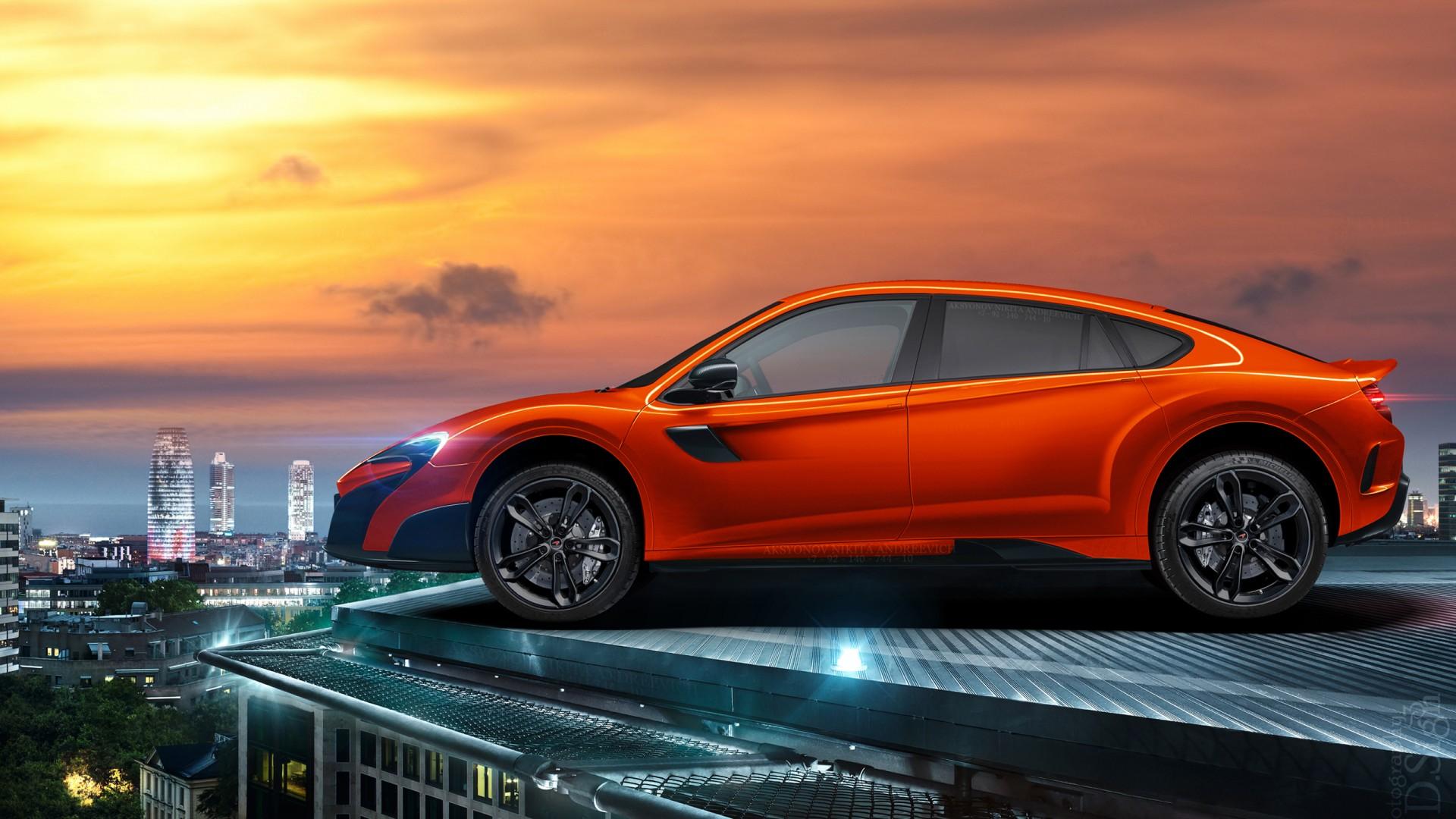 McLaren Super SUV Wallpaper