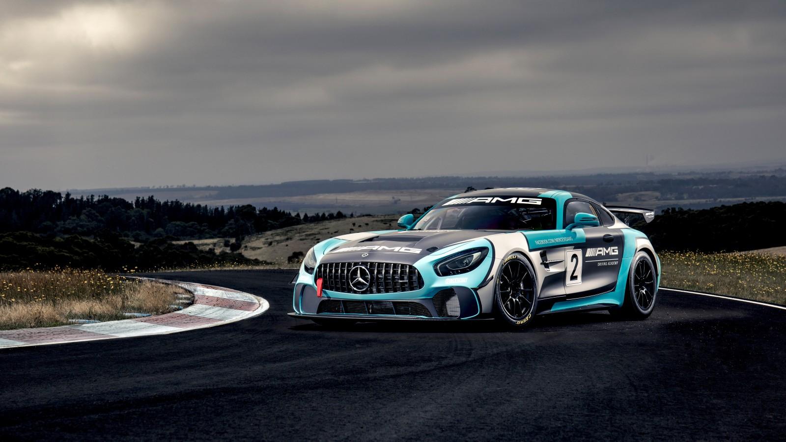 Mercedes-AMG GT4 4K 8K Wallpaper | HD Car Wallpapers | ID ...