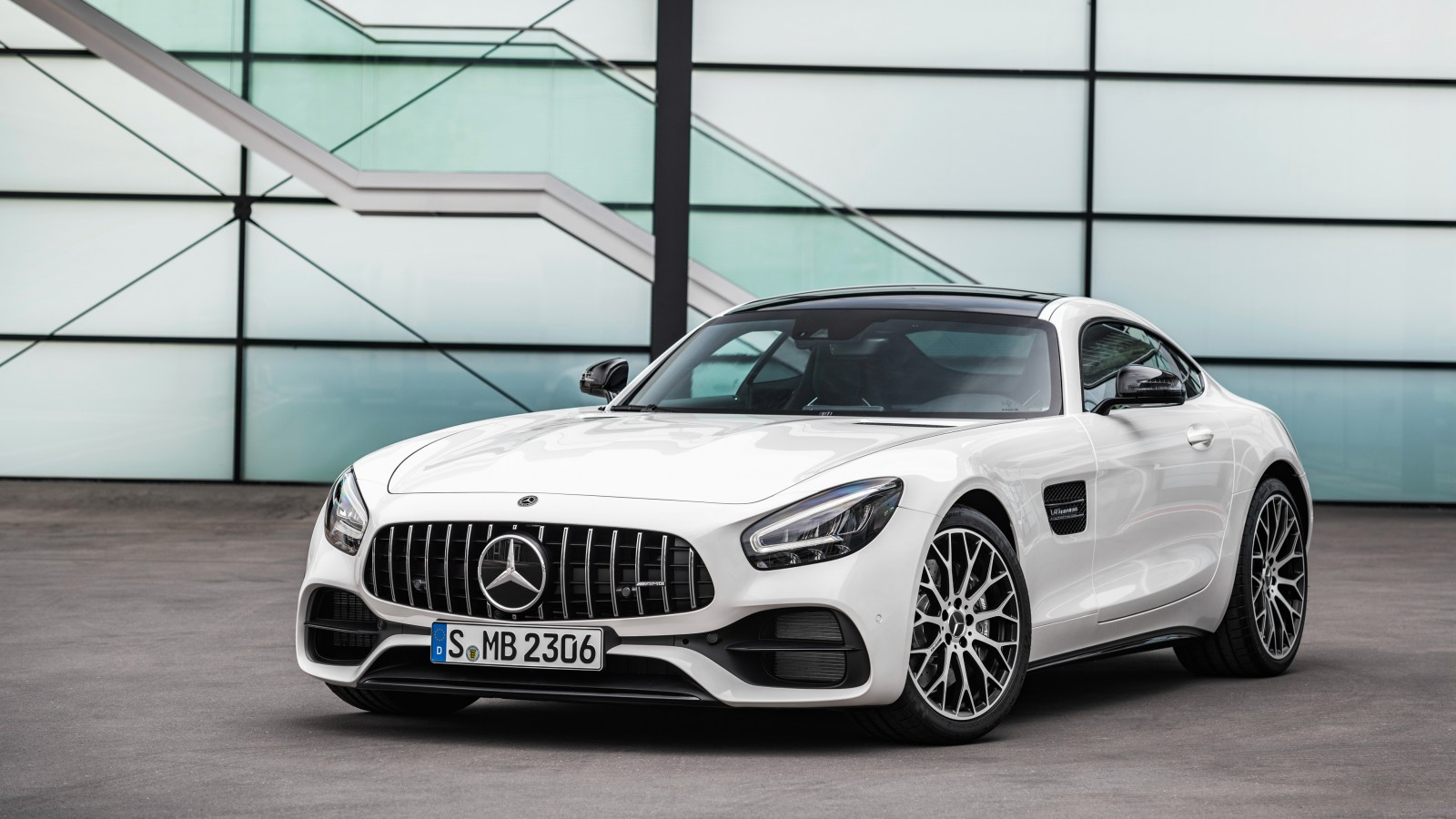 Mercedes Amg Gt Wallpaper: Mercedes-AMG GT 2019 4K Wallpaper