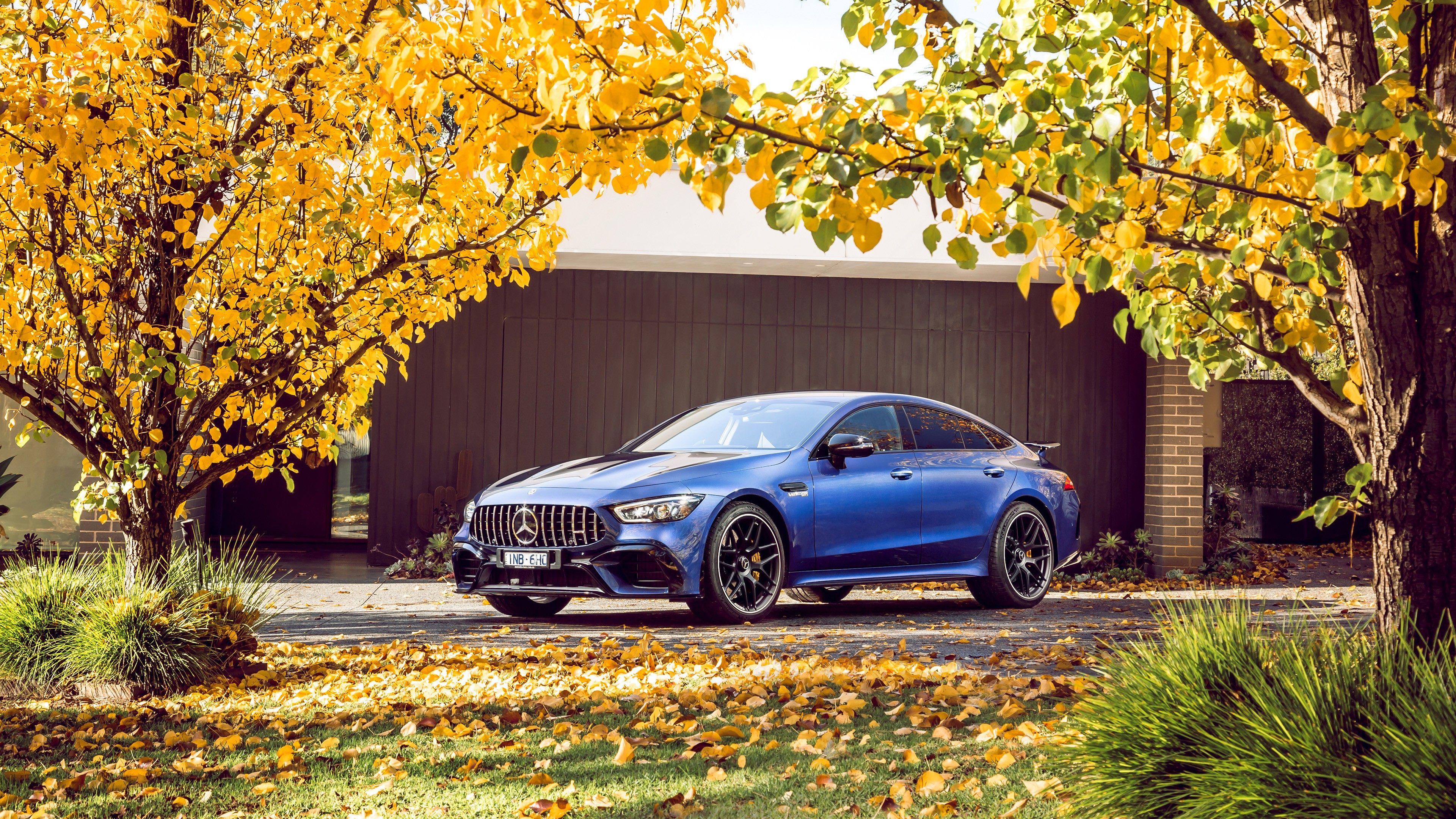 Mercedes Amg Gt 63 S 4matic 4 Door Coupe 2019 4k Wallpaper