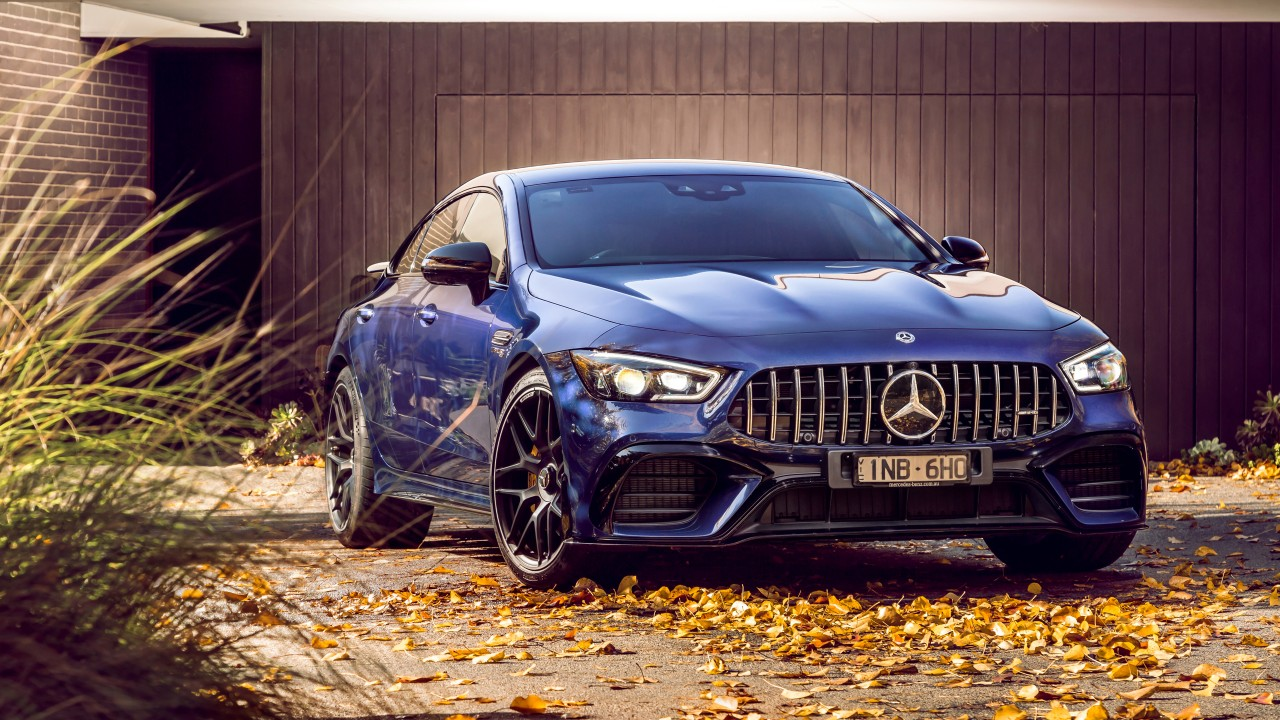 Mercedes Benz Coupe >> Mercedes-AMG GT 63 S 4MATIC 4-Door Coupe 2019 4K 2 ...