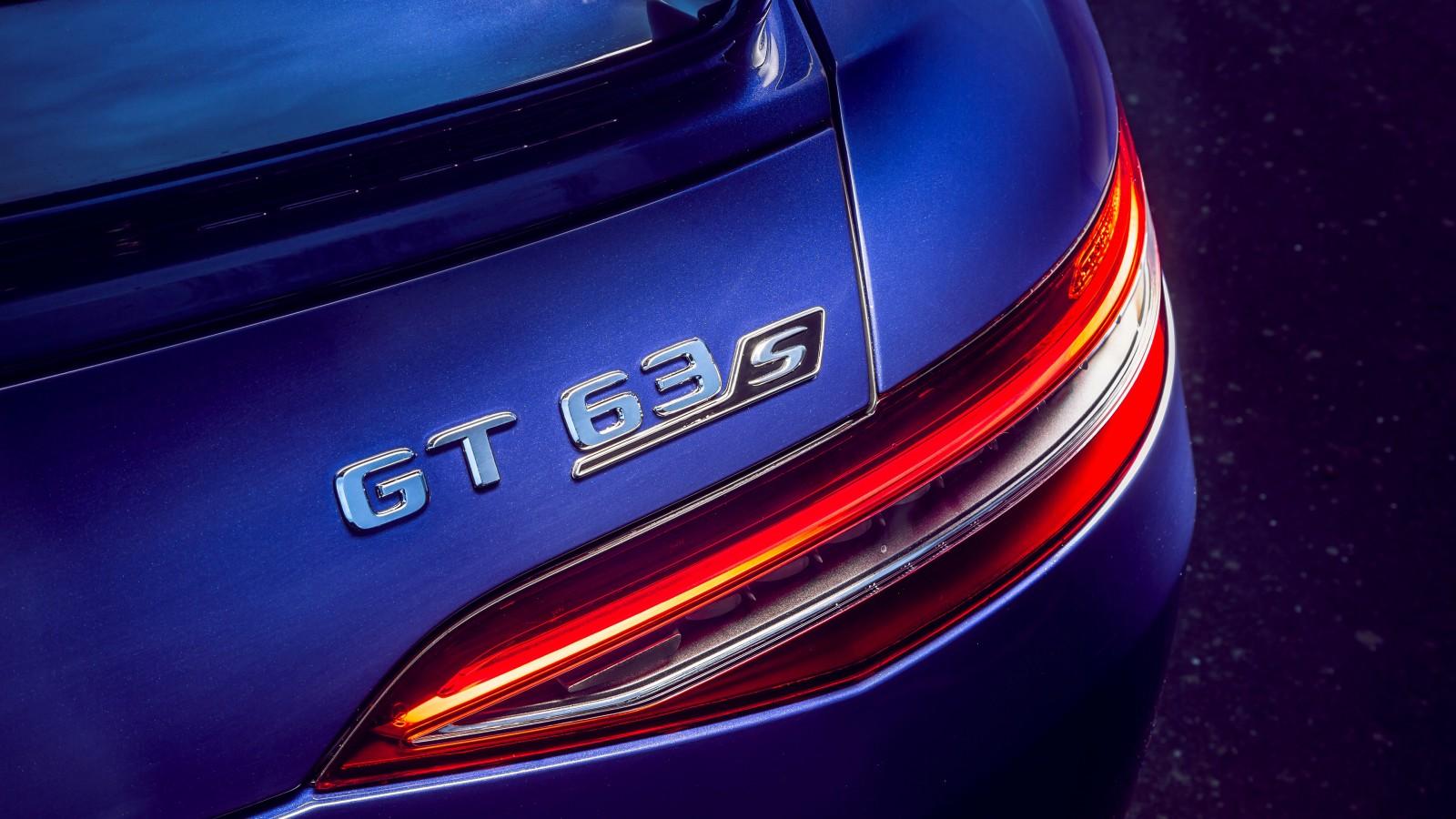 Mercedes-AMG GT 63 S 4MATIC 4-Door Coupe 2019 4K 3 ...