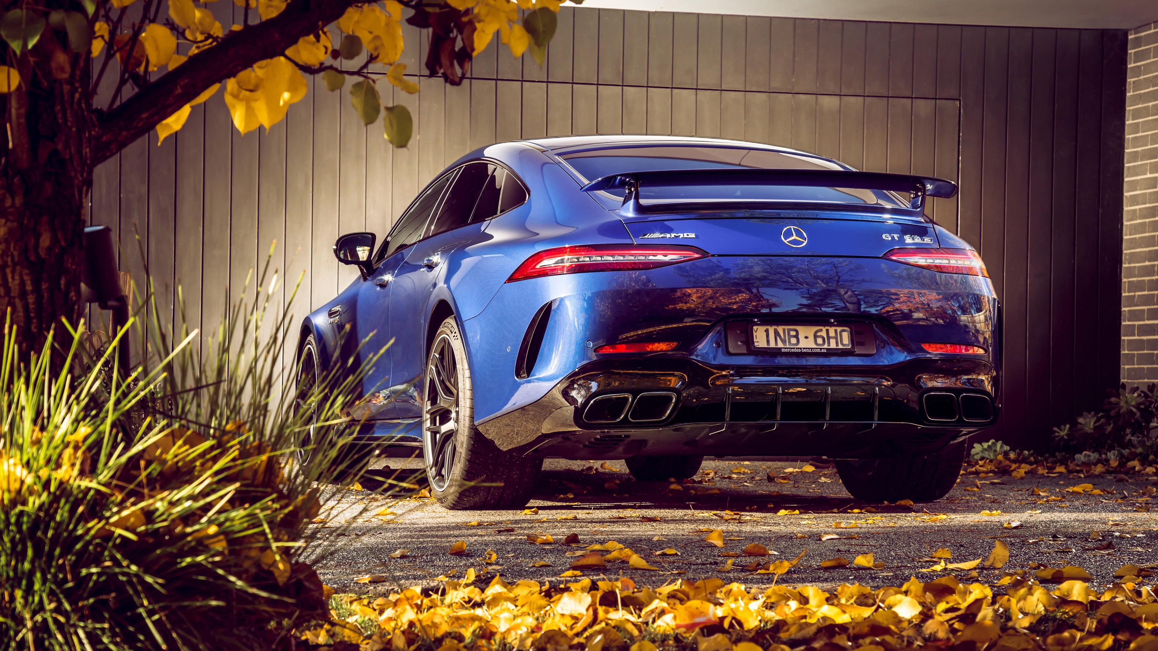 Mercedes Benz Amg Gt >> Mercedes-AMG GT 63 S 4MATIC 4-Door Coupe 2019 4K 5 ...