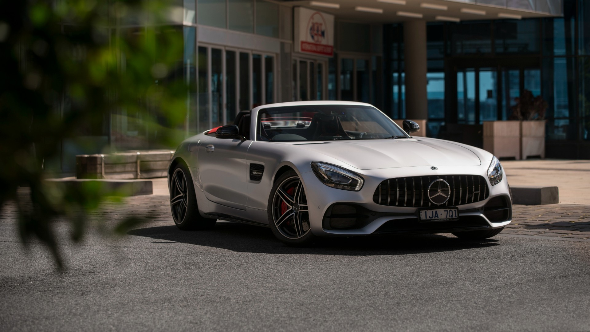 Mercedes AMG GT C Roadster 2018 4K 5 Wallpaper HD Car
