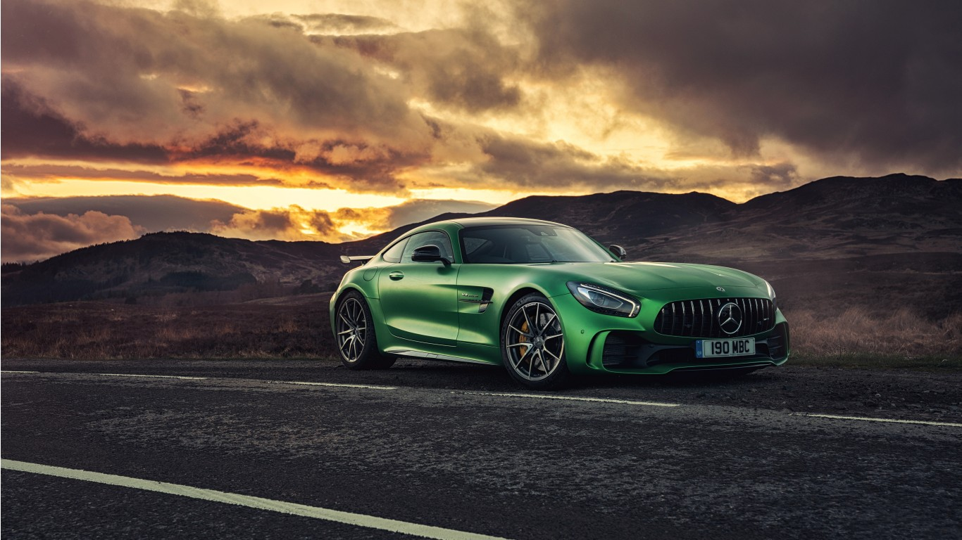 Mercedes Amg Gt R >> Mercedes AMG GT R 2017 4K Wallpaper | HD Car Wallpapers | ID #7770