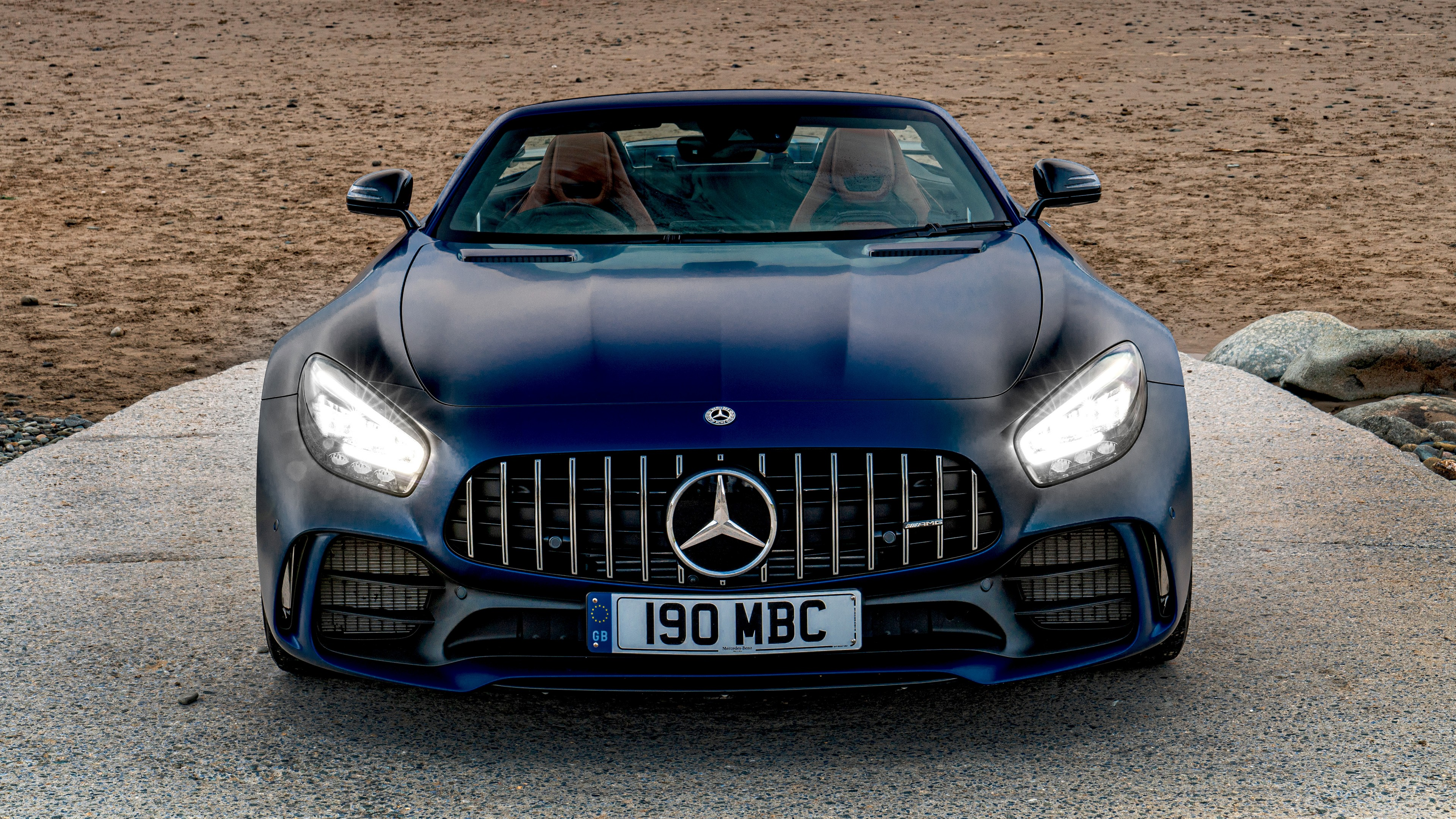 Mercedes Amg Gt R Roadster 2019 4k 3 Wallpaper Hd Car Wallpapers Id 13836
