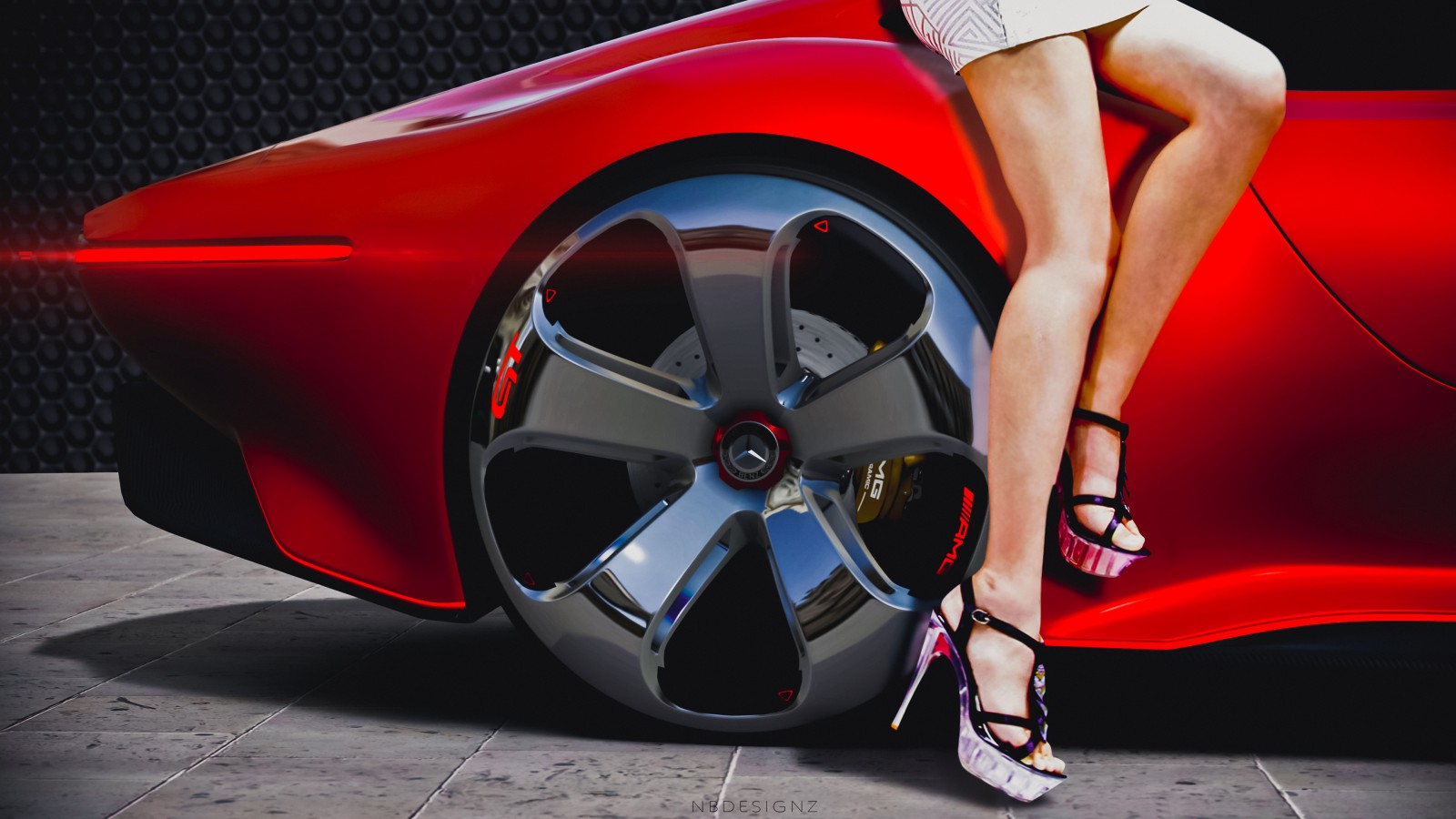 Mercedes Benz AMG Vision GT Gran Turismo 6 Wallpaper | HD ...