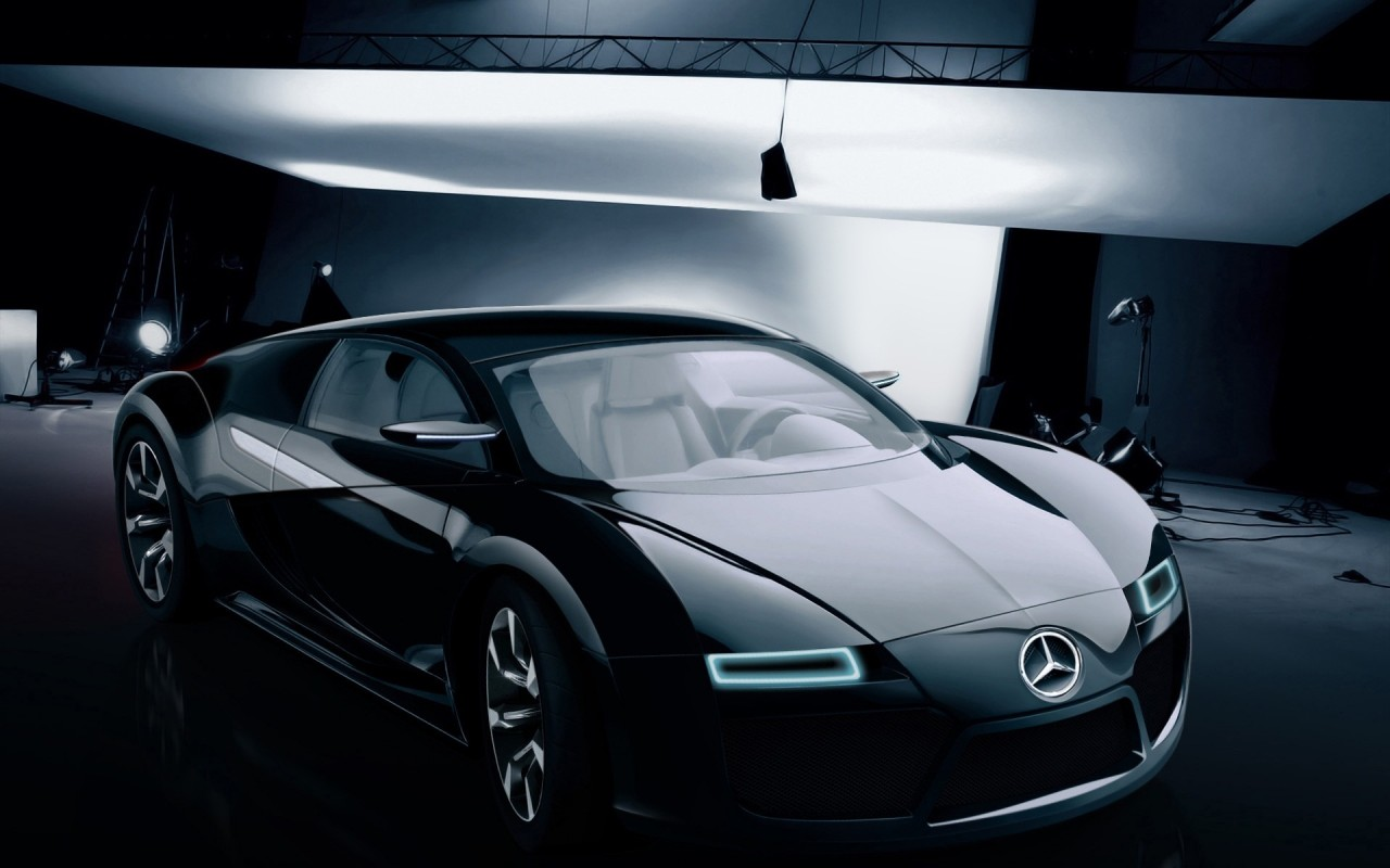 mercedes benz bugatti concept wallpaper in 1280x800 resolution