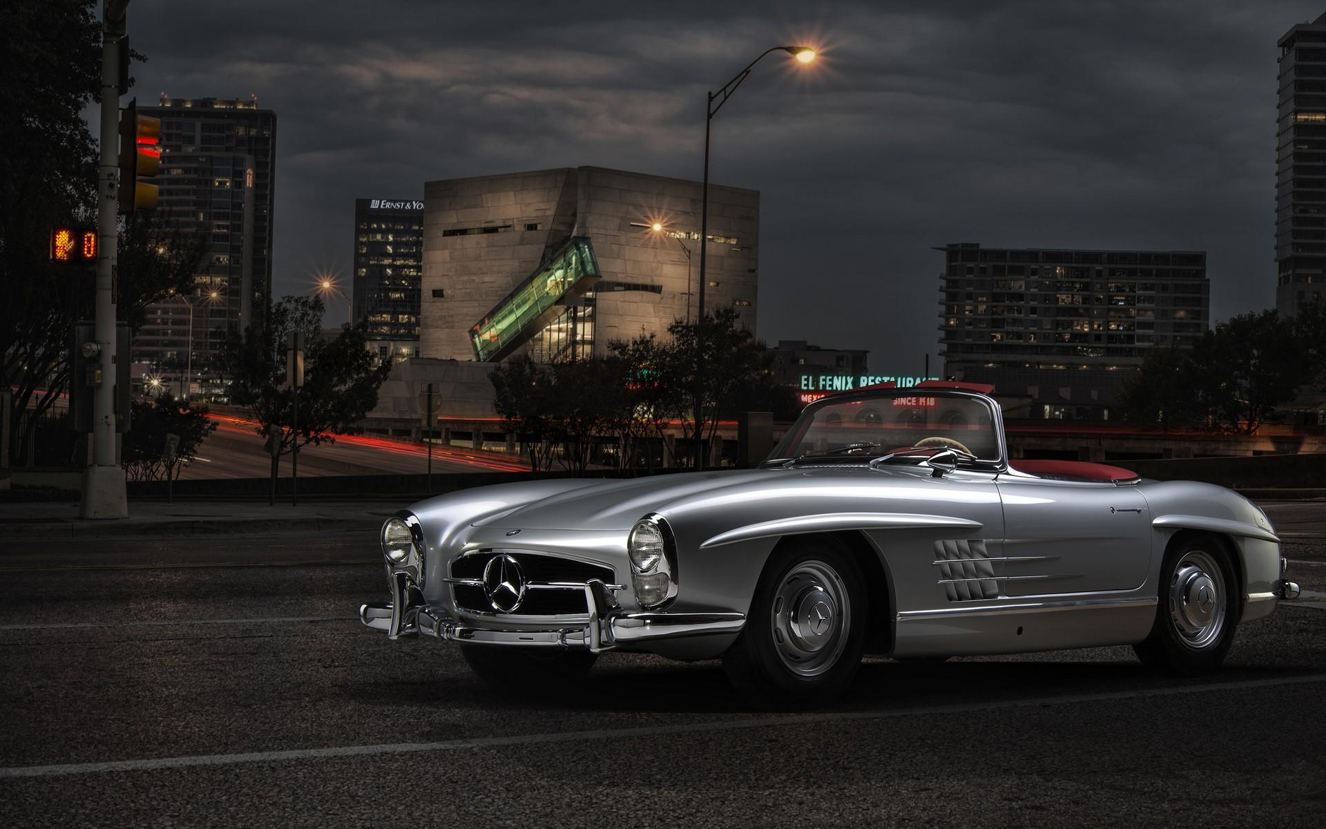 Mercedes benz classic wallpaper hd car wallpapers id 3382 for Mercedes benz sl classic