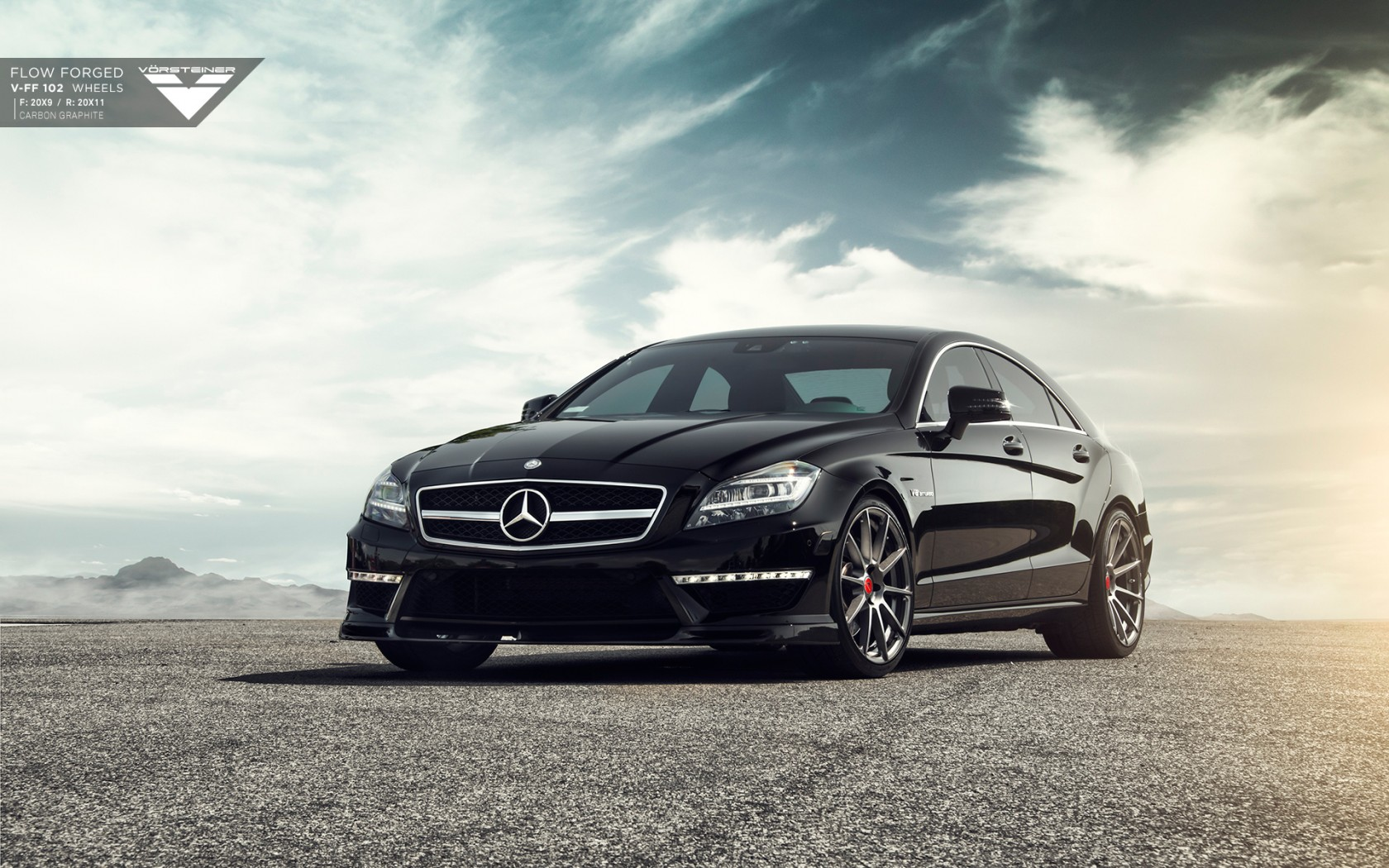 Mercedes Benz Cls63 Amg Vorsteiner Wallpaper Hd Car