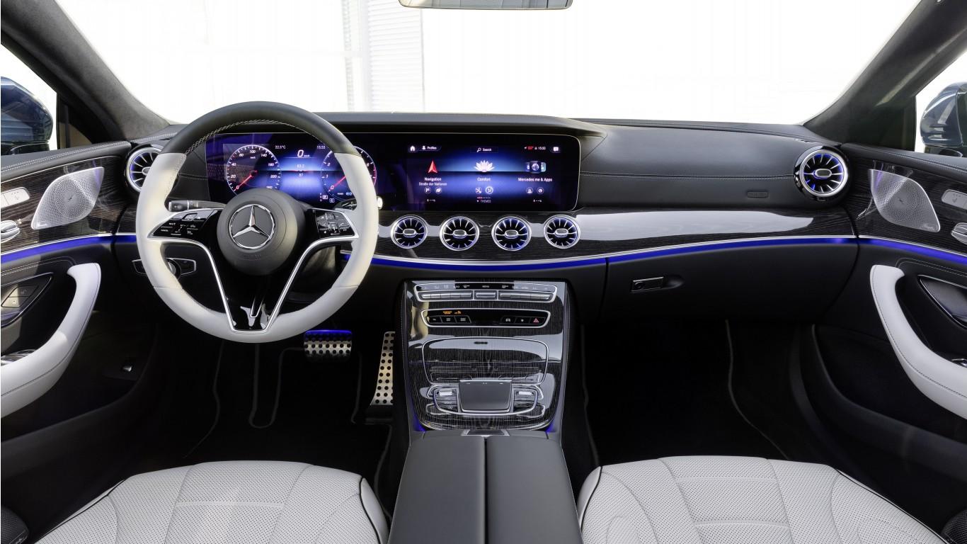 Mercedes-Benz CLS 350 AMG Line 2021 5K Interior Wallpaper ...