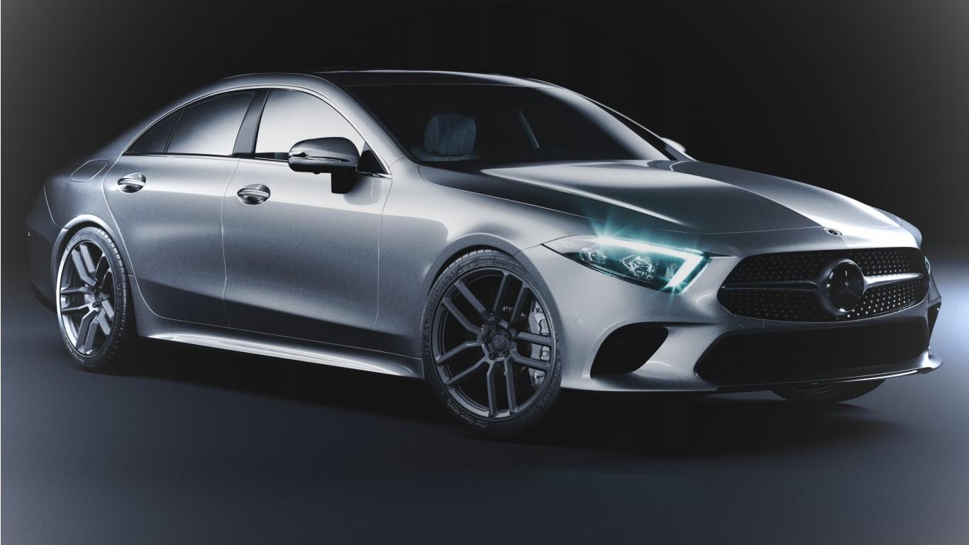 Mercedes-Benz CLS 4K Wallpaper | HD Car Wallpapers | ID #10797