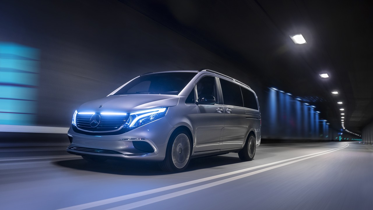 Mercedes-Benz Concept EQV 2019 4K Wallpaper HD Car