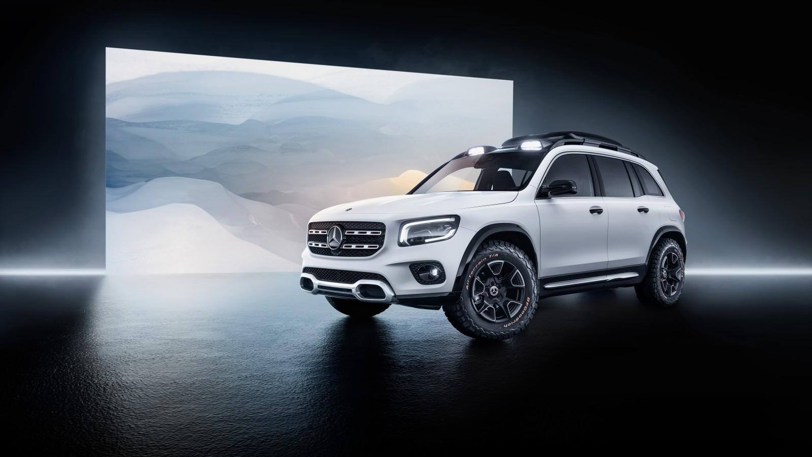 Mercedes-Benz Concept GLB 2019 5K Wallpaper | HD Car ...