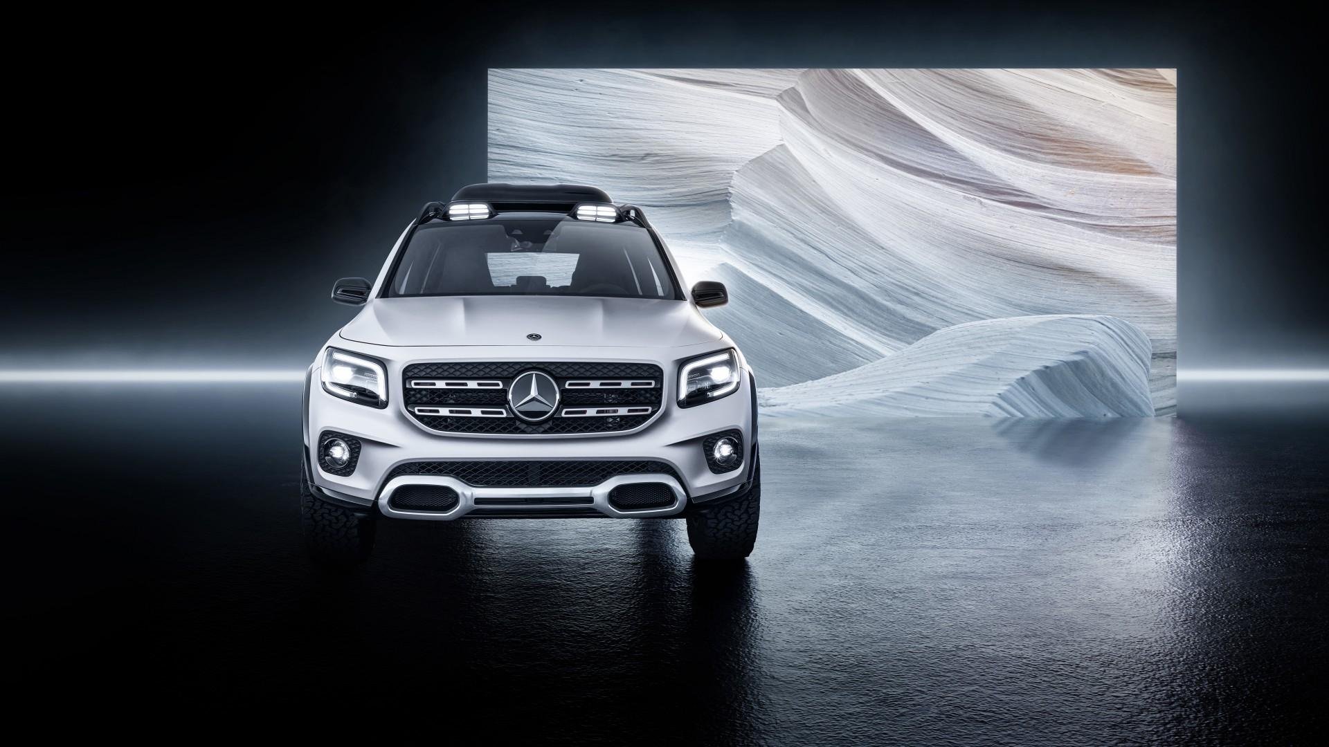 Mercedes-Benz Concept GLB 2019 5K 2 Wallpaper   HD Car ...