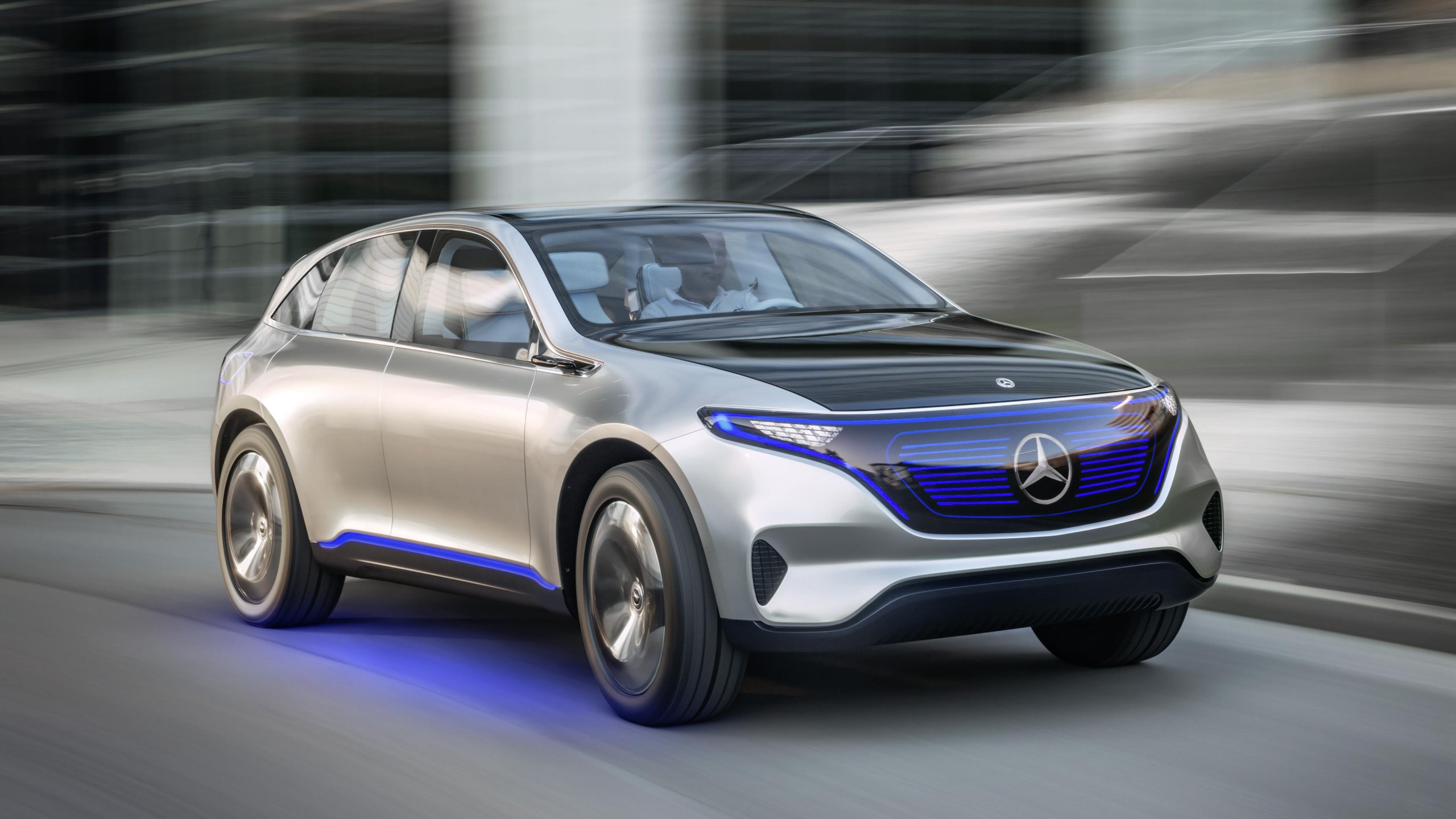mercedes benz eq electric suv 4k wallpaper hd car