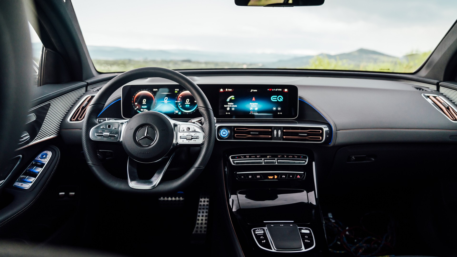 Mercedes-Benz EQC 400 4MATIC AMG Line 2019 4K Interior ...