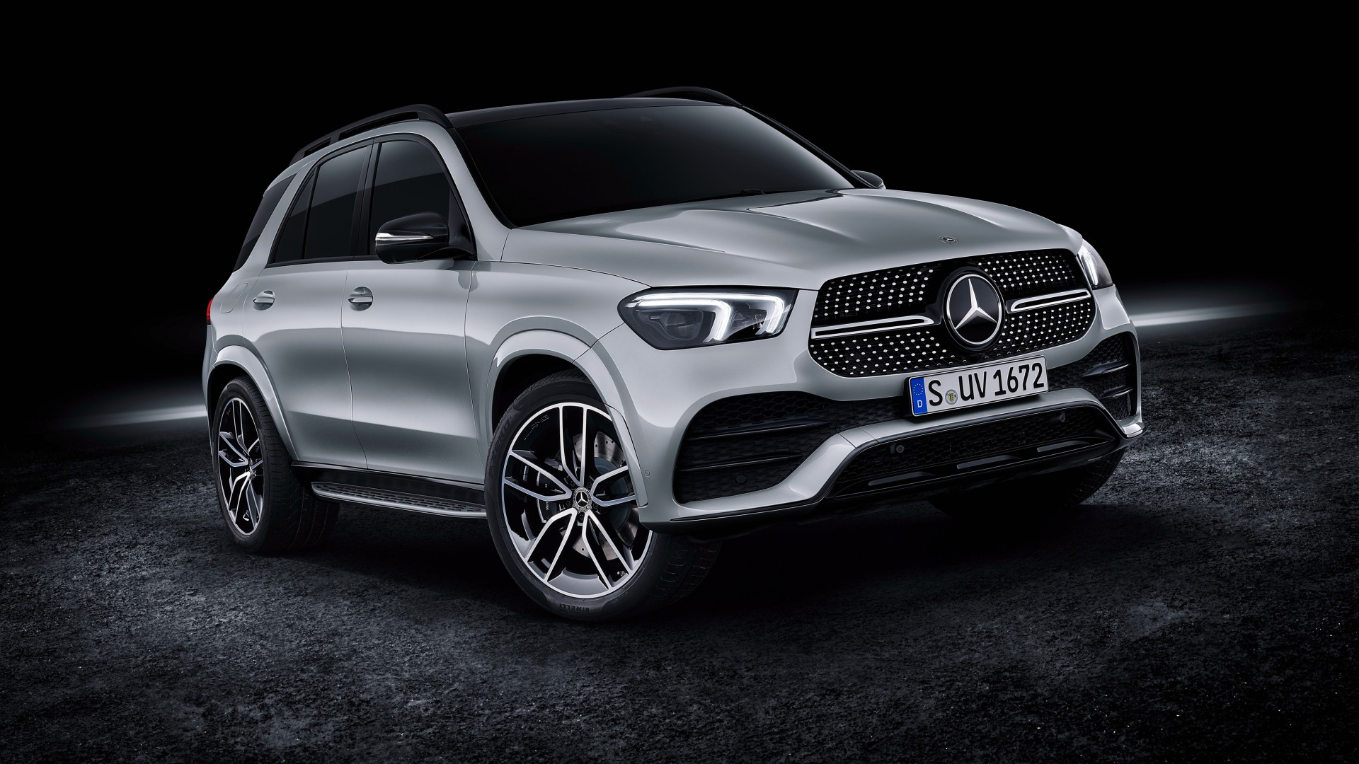 Mercedes-Benz GLE 450 4MATIC AMG Line 2019 4K Wallpaper ...