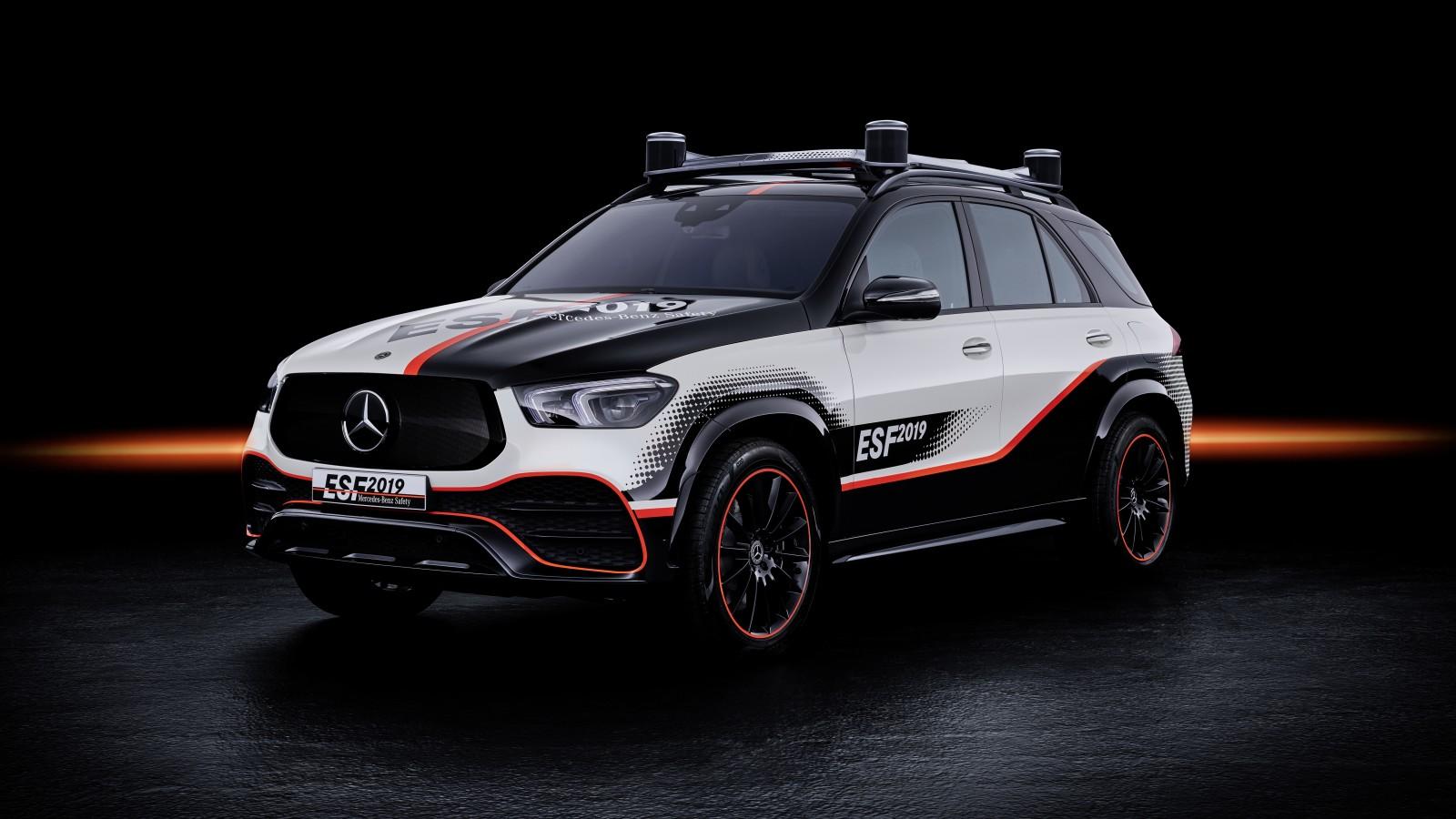 Mercedes-Benz GLE-Klasse ESF Concept 2019 5K Wallpaper