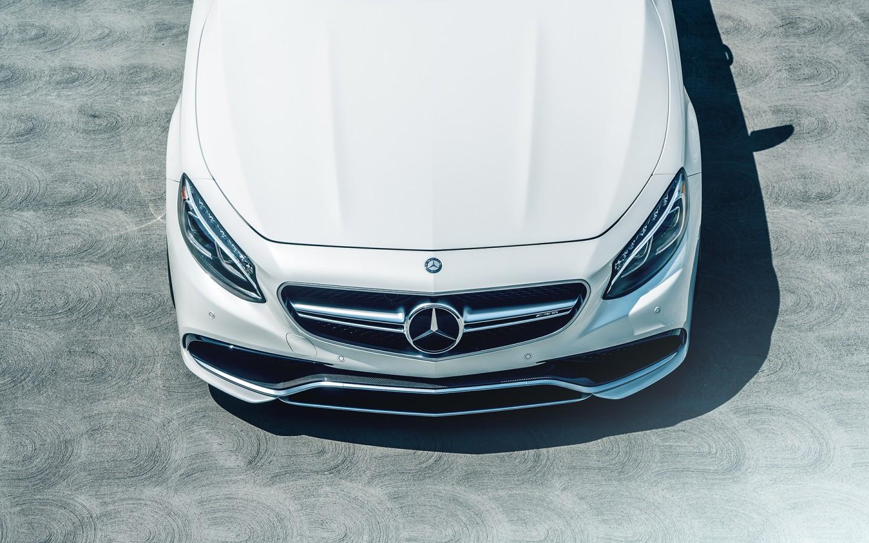 Mercedes Benz S63 AMG Coupe Avant Garde Wheels Wallpaper ...