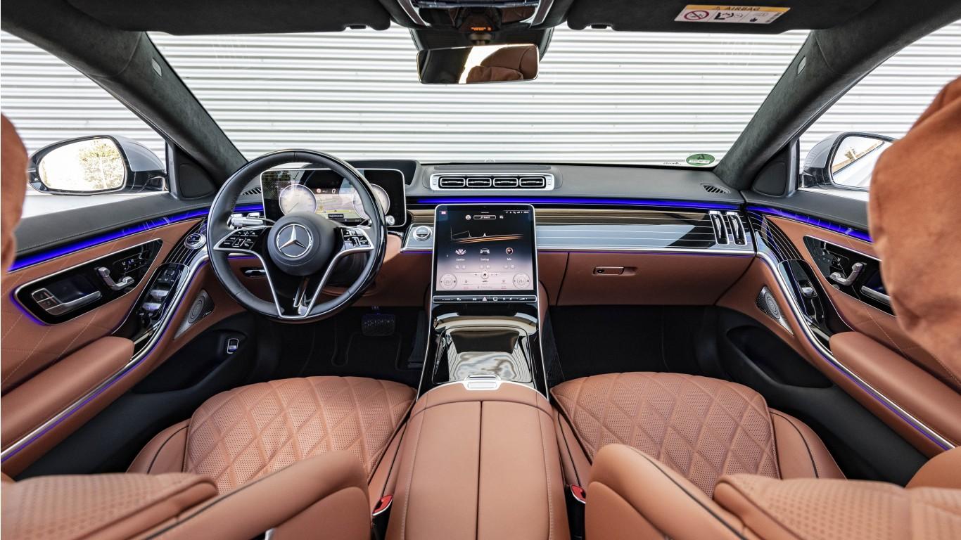 Mercedes-Benz S 400 d 4MATIC 2020 5K Interior Wallpaper ...