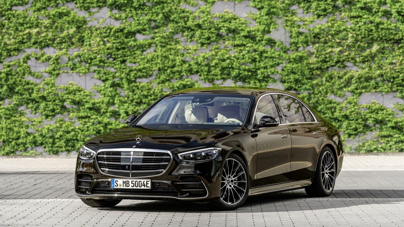 Mercedes-Benz S 580 e lang AMG Line 2021 5K Wallpaper   HD ...