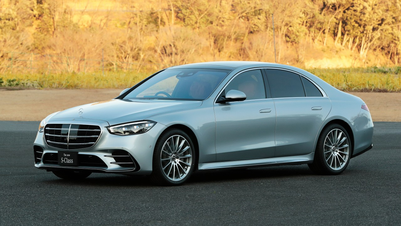 Mercedes-Benz S-Class S500 4MATIC lang AMG Line 2021 5K ...