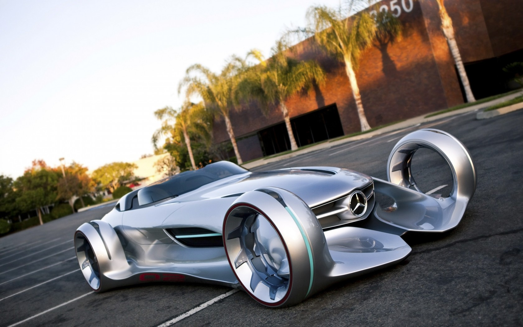 mercedes benz silver arrow concept wallpaper hd car