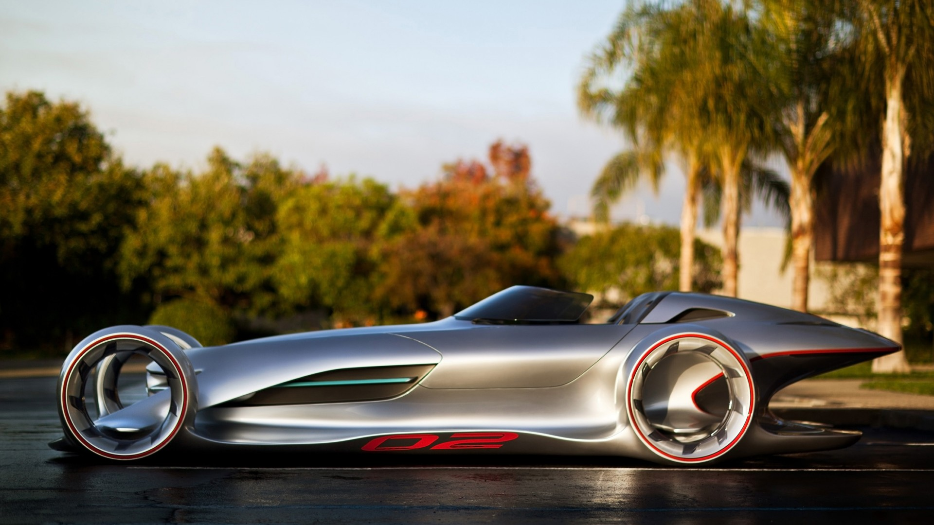 Mercedes Benz Silver Arrow Concept 2011 Wallpaper Hd Car