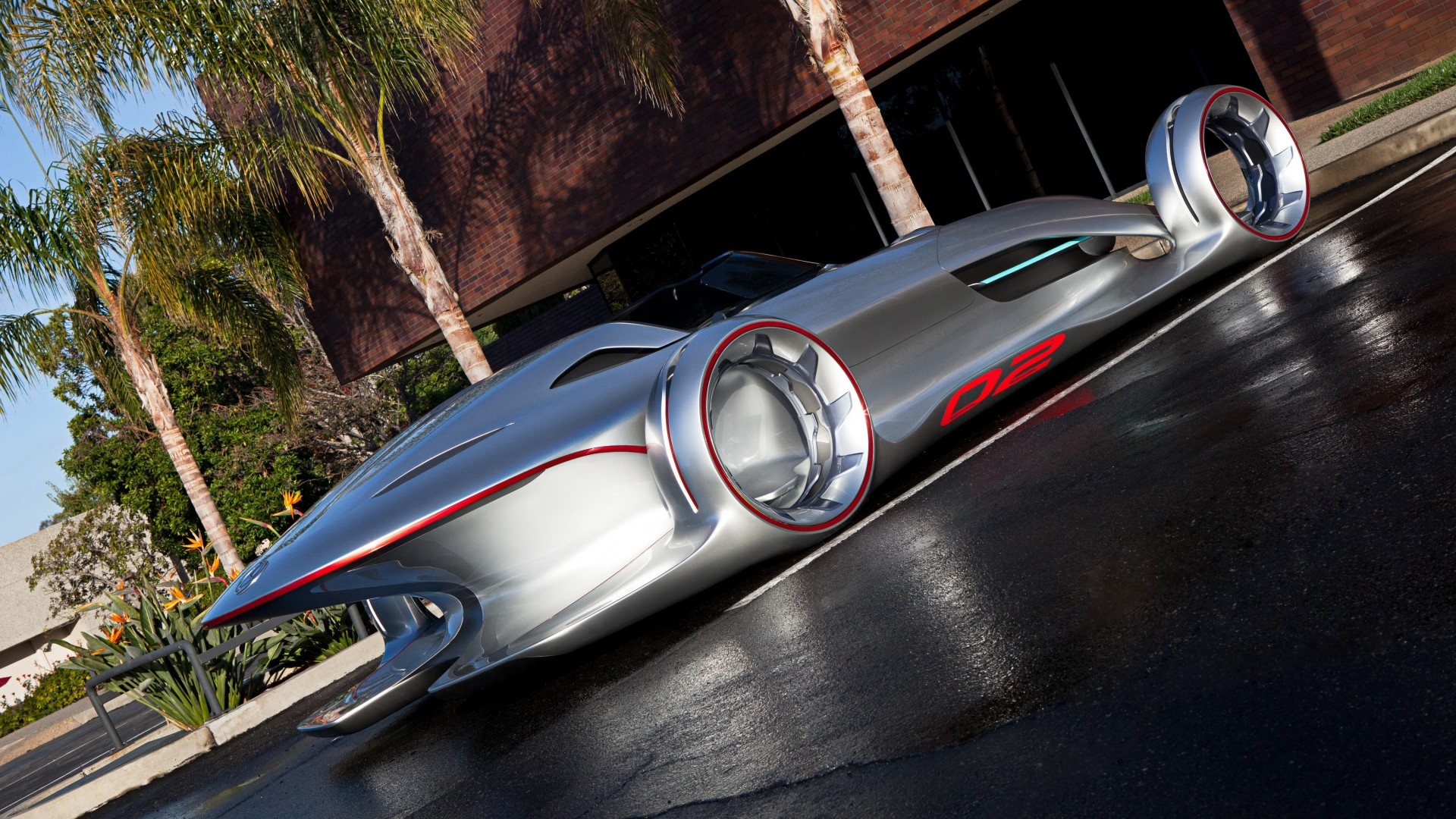 Mercedes Benz Silver Arrow Concept 4k Wallpaper Hd Car