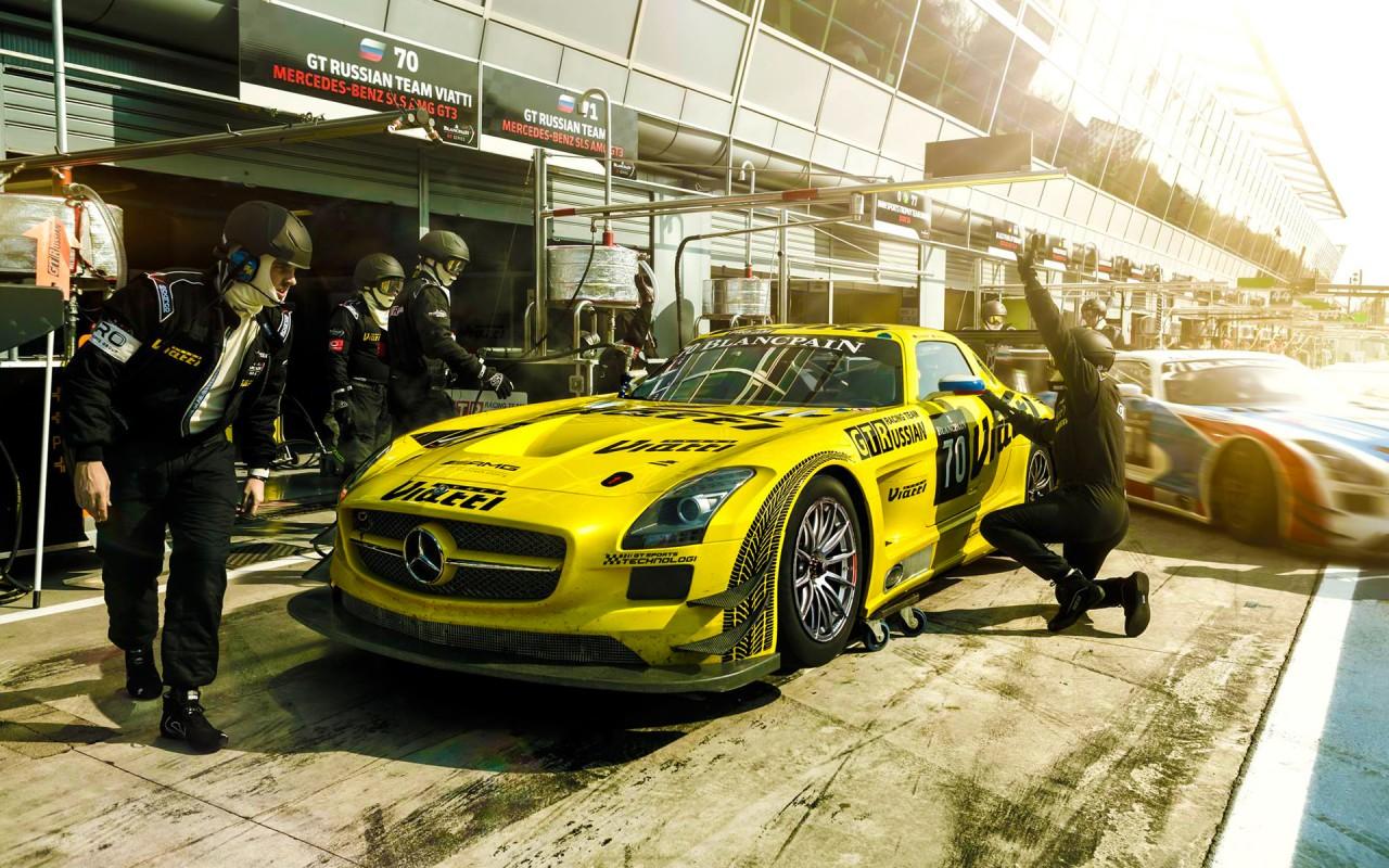 Mercedes Benz Sls Amg Gt3 Wallpaper Hd Car Wallpapers