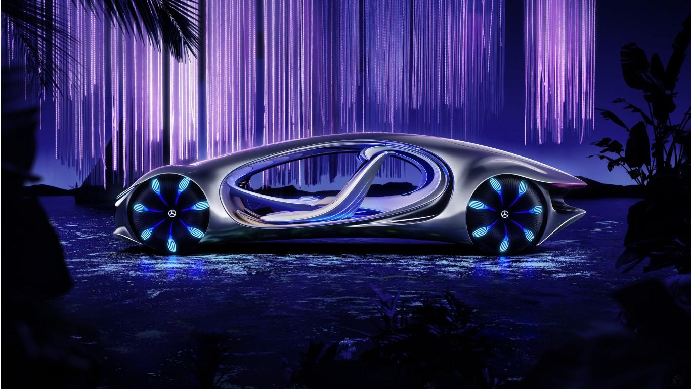Mercedes-Benz VISION AVTR 2020 4K 8K 3 Wallpaper | HD Car ...