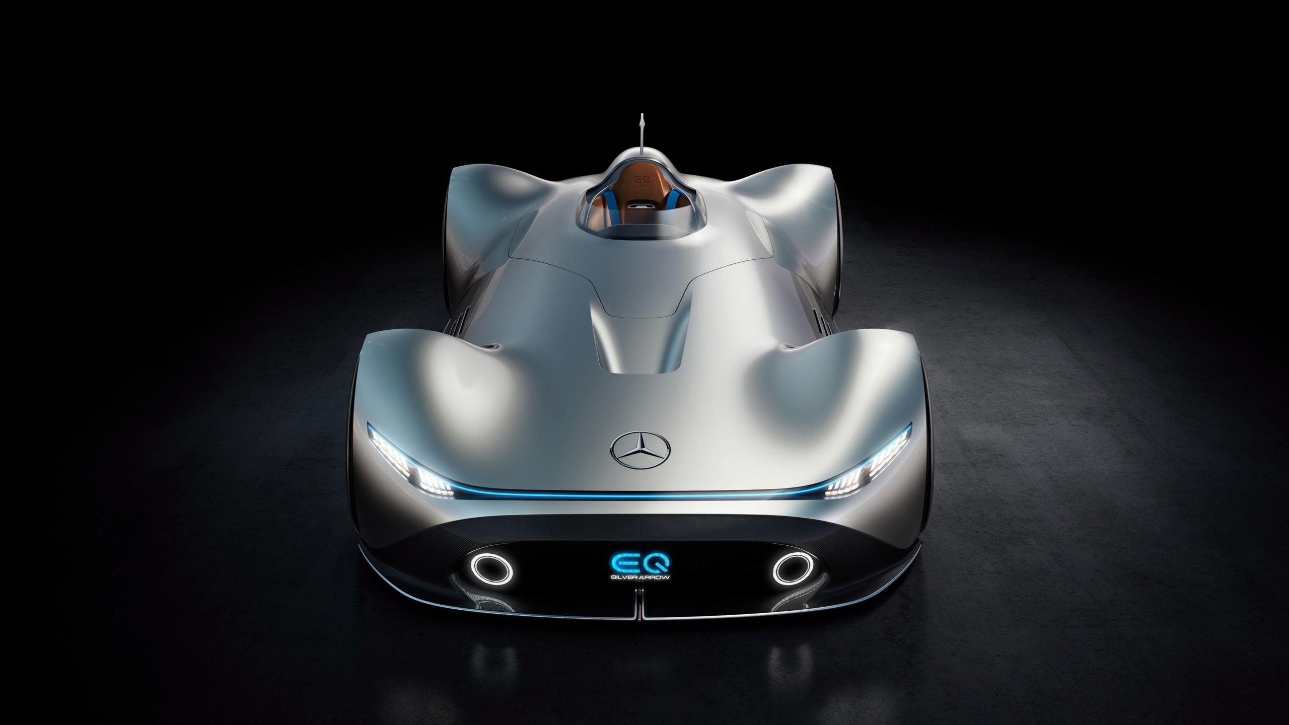 Mercedes benz vision eq silver arrow 4k wallpaper hd car for Auto mercedes benz