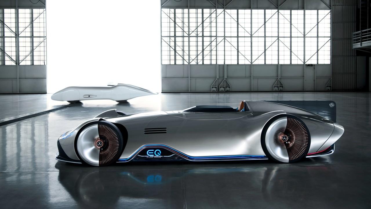 Mercedes Benz Vision EQ Silver Arrow 4K 17 Wallpaper | HD ...