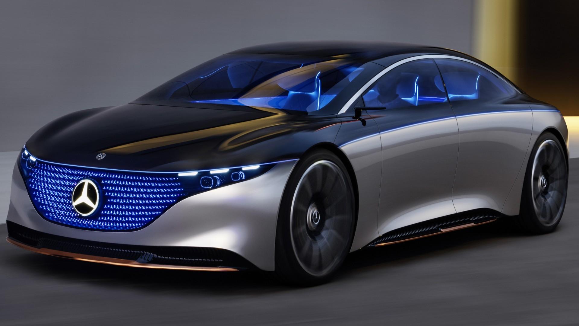 Mercedes-Benz Vision EQS 2019 4K Wallpaper | HD Car ...