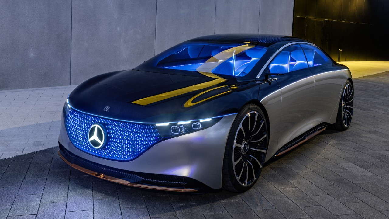 Mercedes Benz Vision Eqs 2019 4k 6 Wallpaper Hd Car