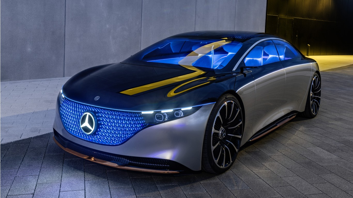 Mercedes Benz Amg Gt >> Mercedes-Benz Vision EQS 2019 4K 6 Wallpaper | HD Car ...