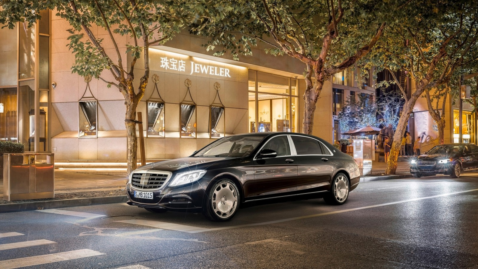 Mercedes Maybach S Class 2015 Wallpaper Hd Car