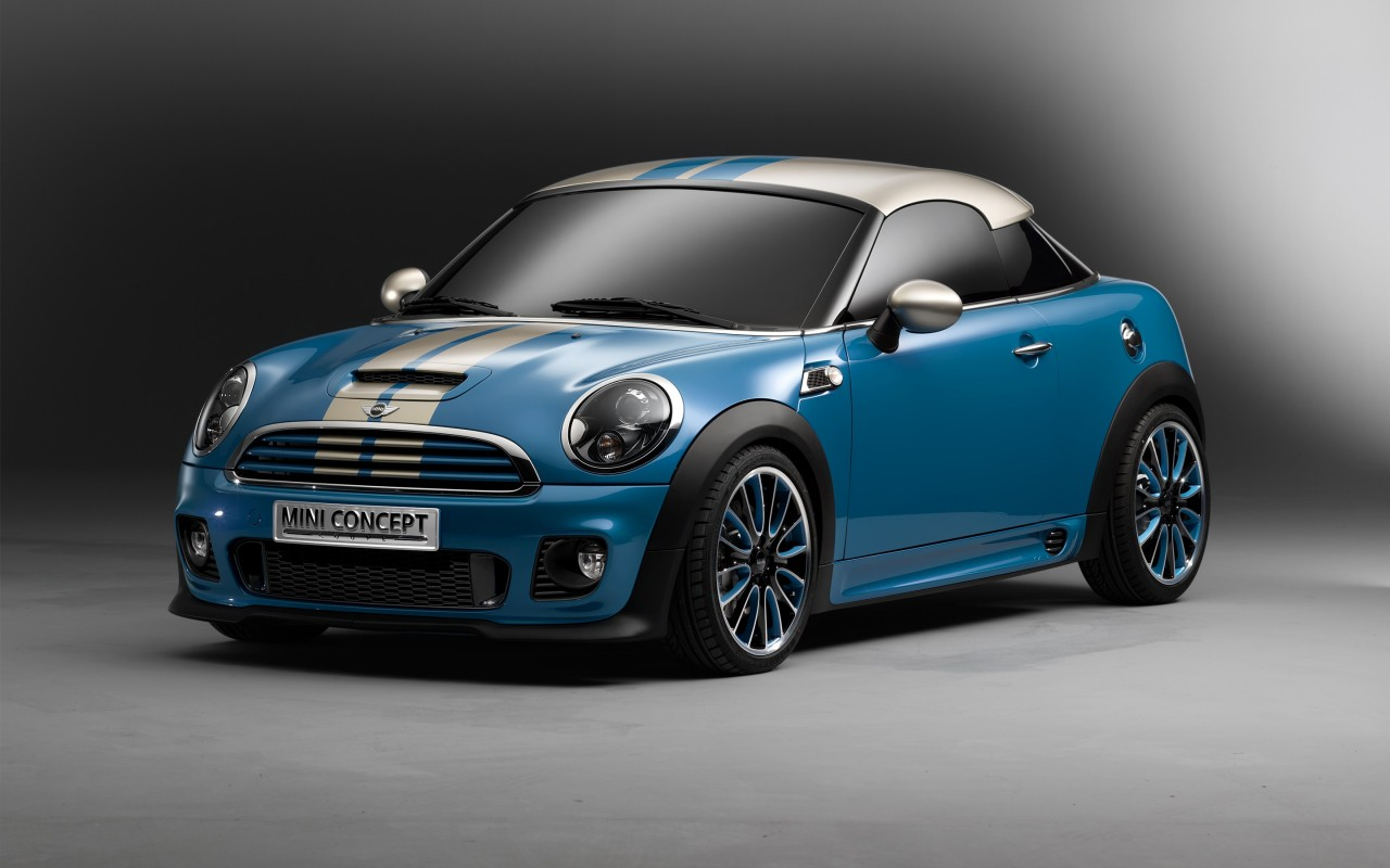 mini cooper coupe concept wallpaper hd car wallpapers. Black Bedroom Furniture Sets. Home Design Ideas