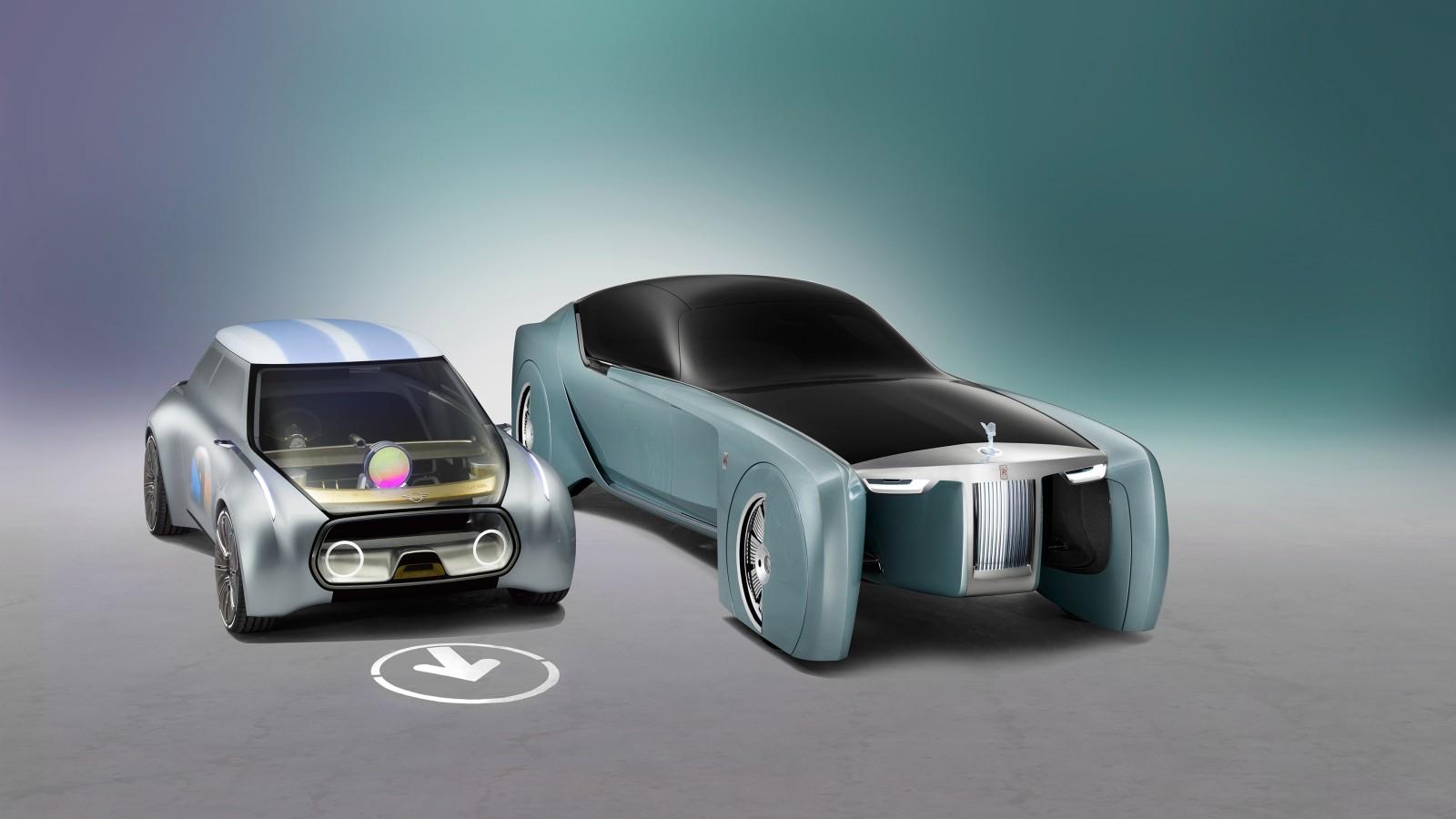 Mini Rolls Royce Vision Next 100 Concept Wallpaper Hd