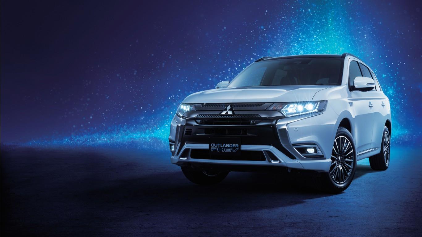 Mitsubishi Outlander PHEV 2018 4K Wallpaper | HD Car ...