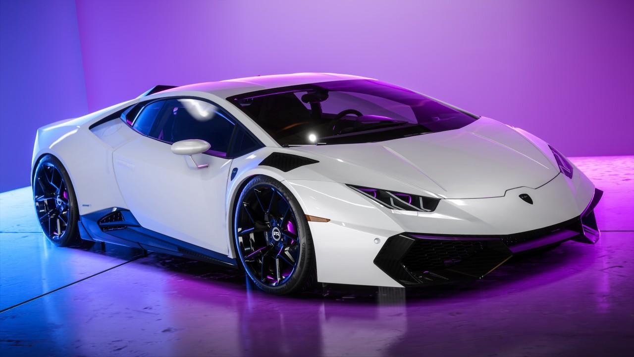 Neon Lamborghini Wallpaper | HD Car Wallpapers | ID #13742