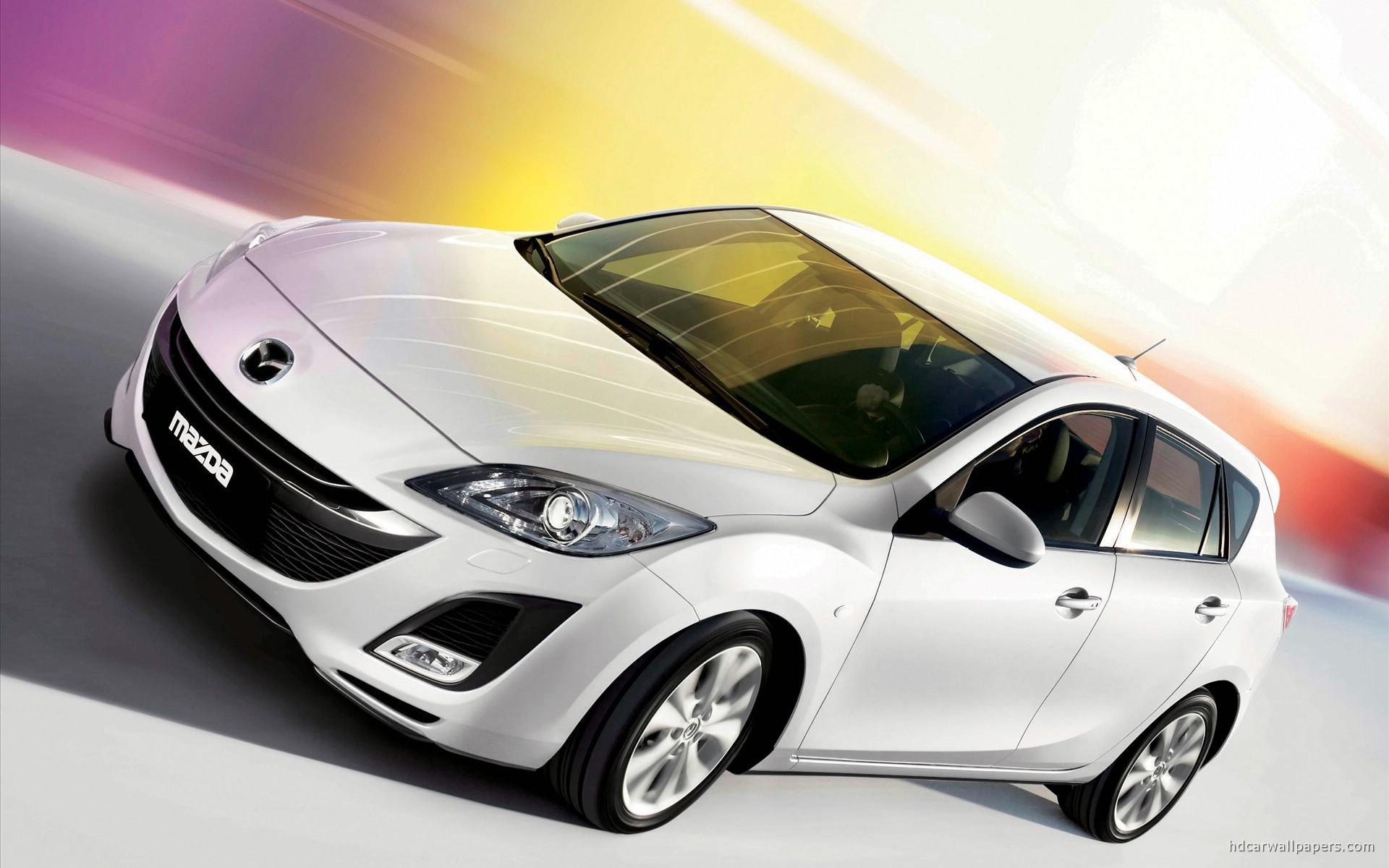 New Mazda 3 I Stop Wallpaper