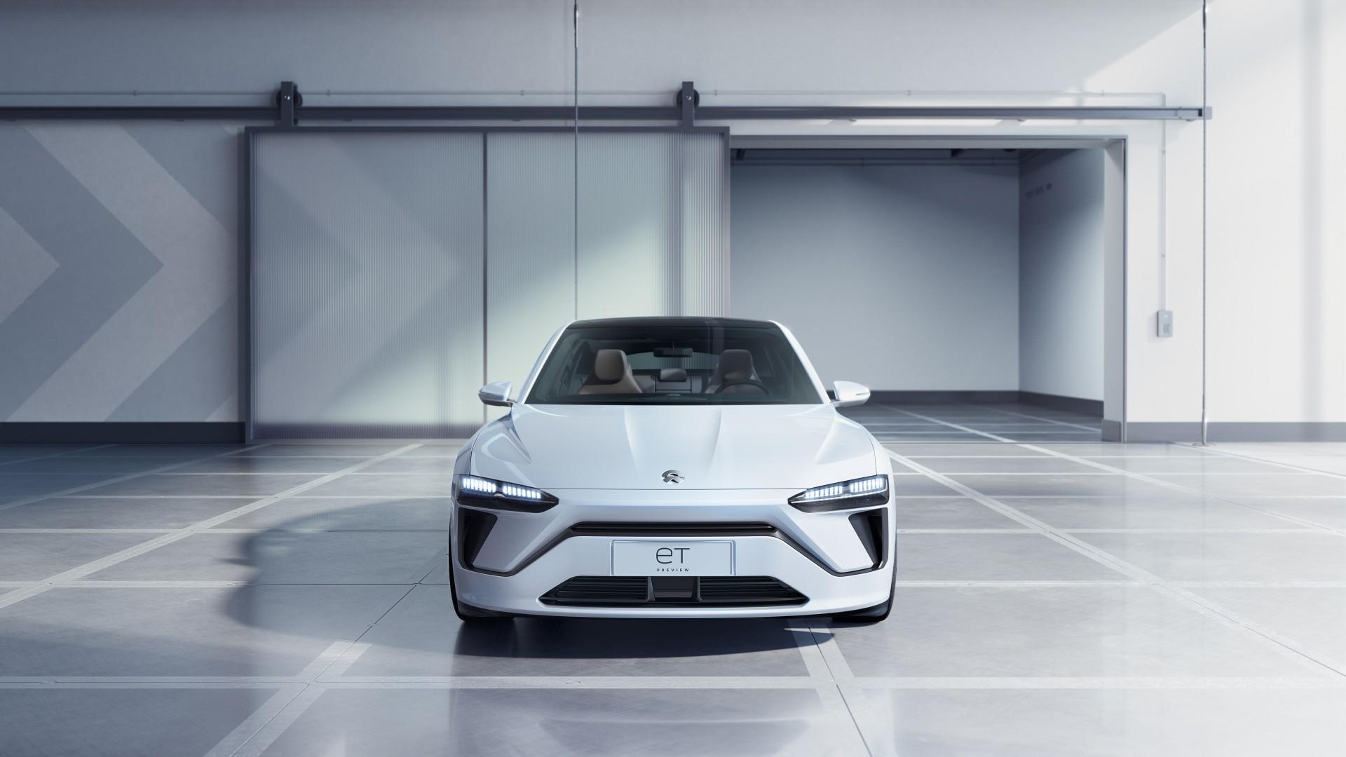 NIO ET Preview Electric Sedan 2019 5K Wallpaper