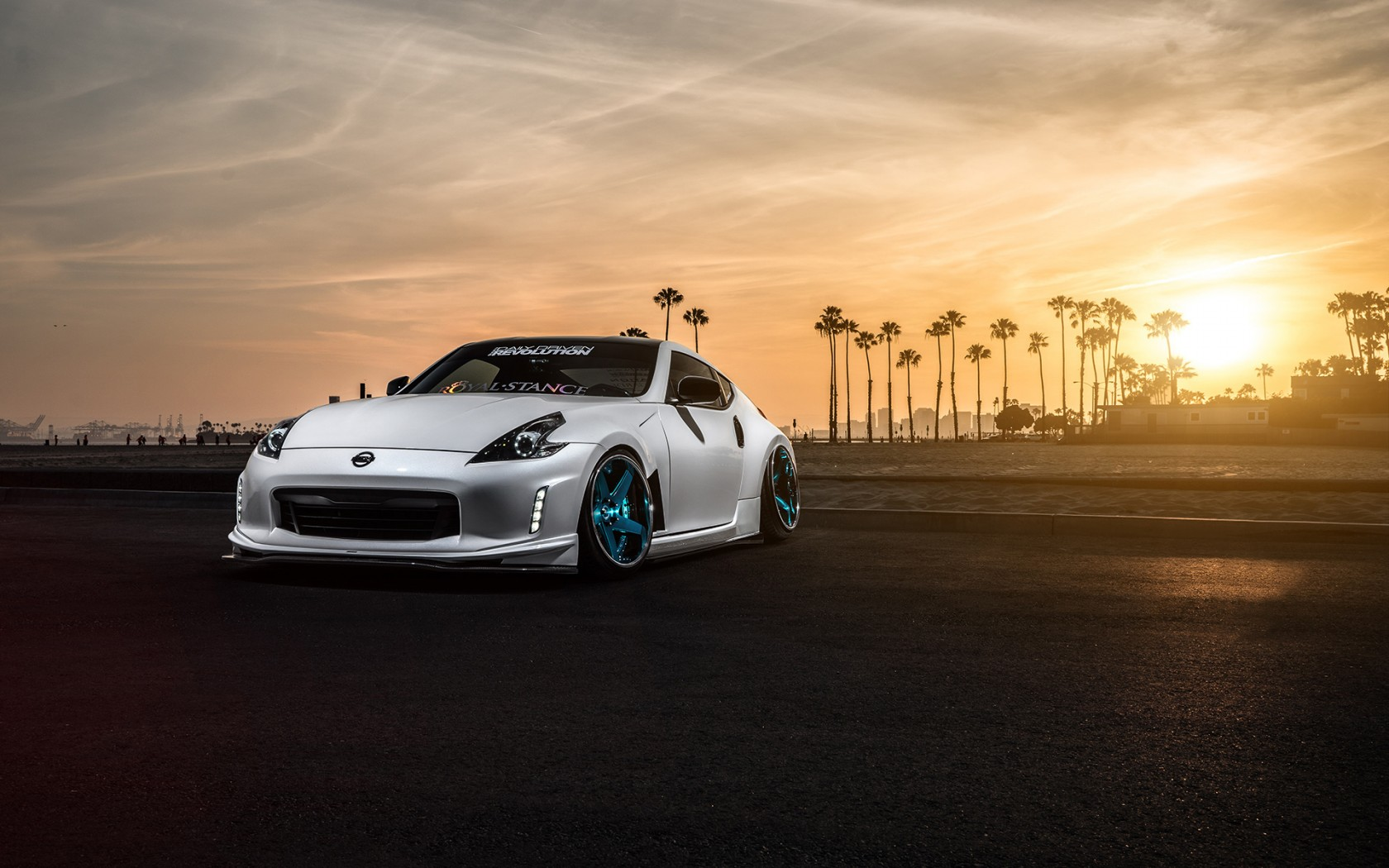 Nissan 370z Avant Garde Wheels Wallpaper Hd Car
