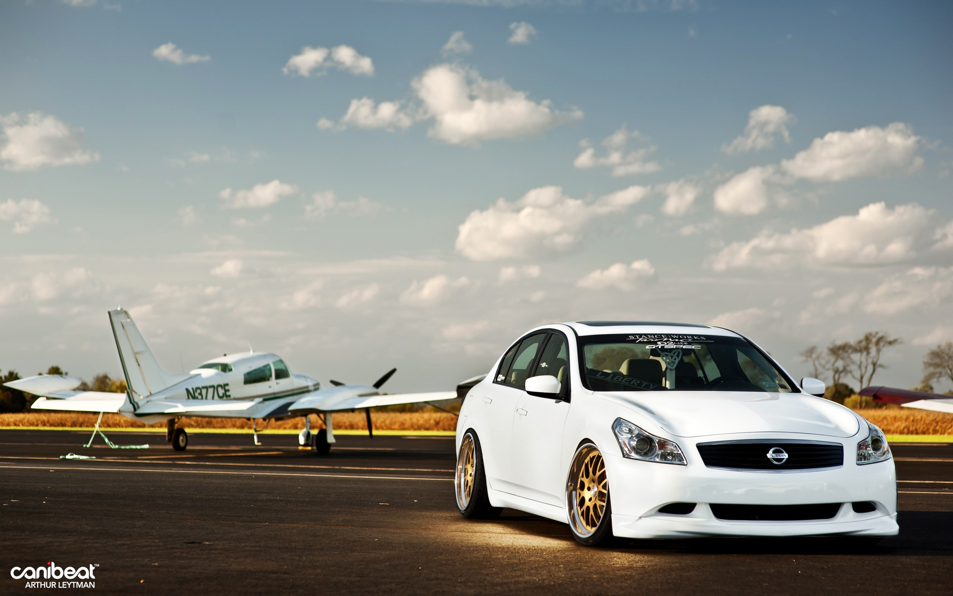 Cars Wallpapers: Nissan G37 Wallpaper